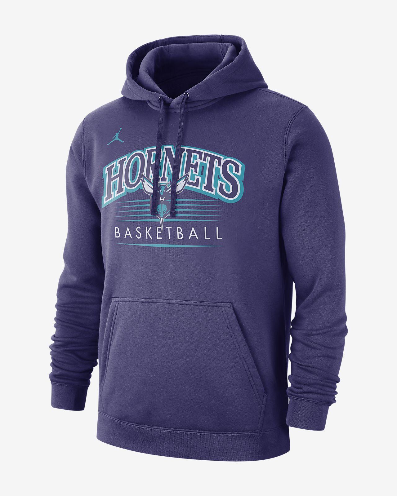 Sweat à capuche NBA Charlotte Hornets Jordan pour Homme