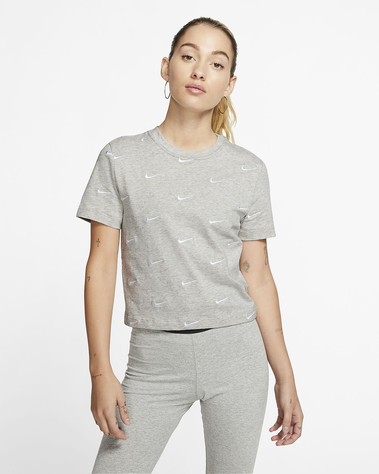 Tee-shirt à logo Swoosh Nike pour Femme