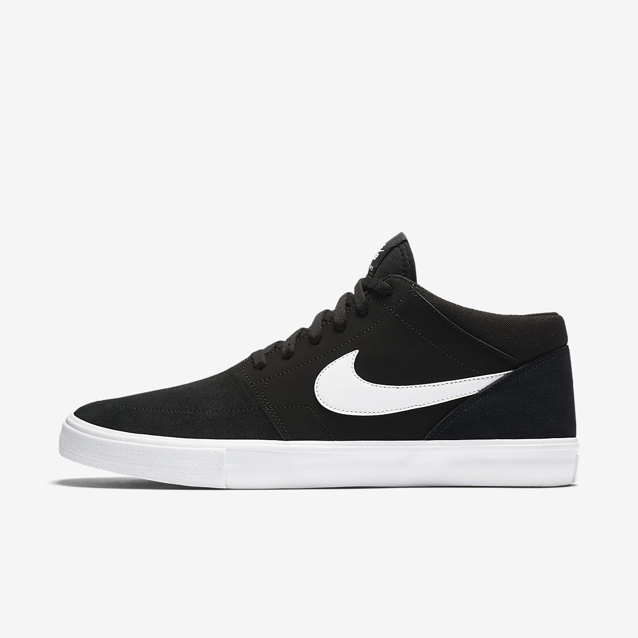 Mens Sb Portmore Ii Solar Skateboarding Shoes Nike