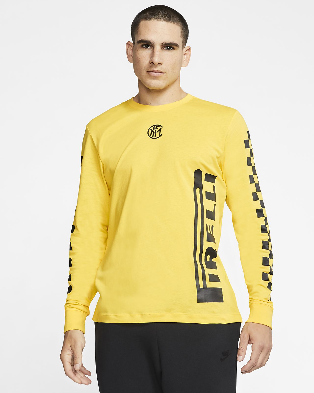 Inter Milan Men's Long-Sleeve T-Shirt