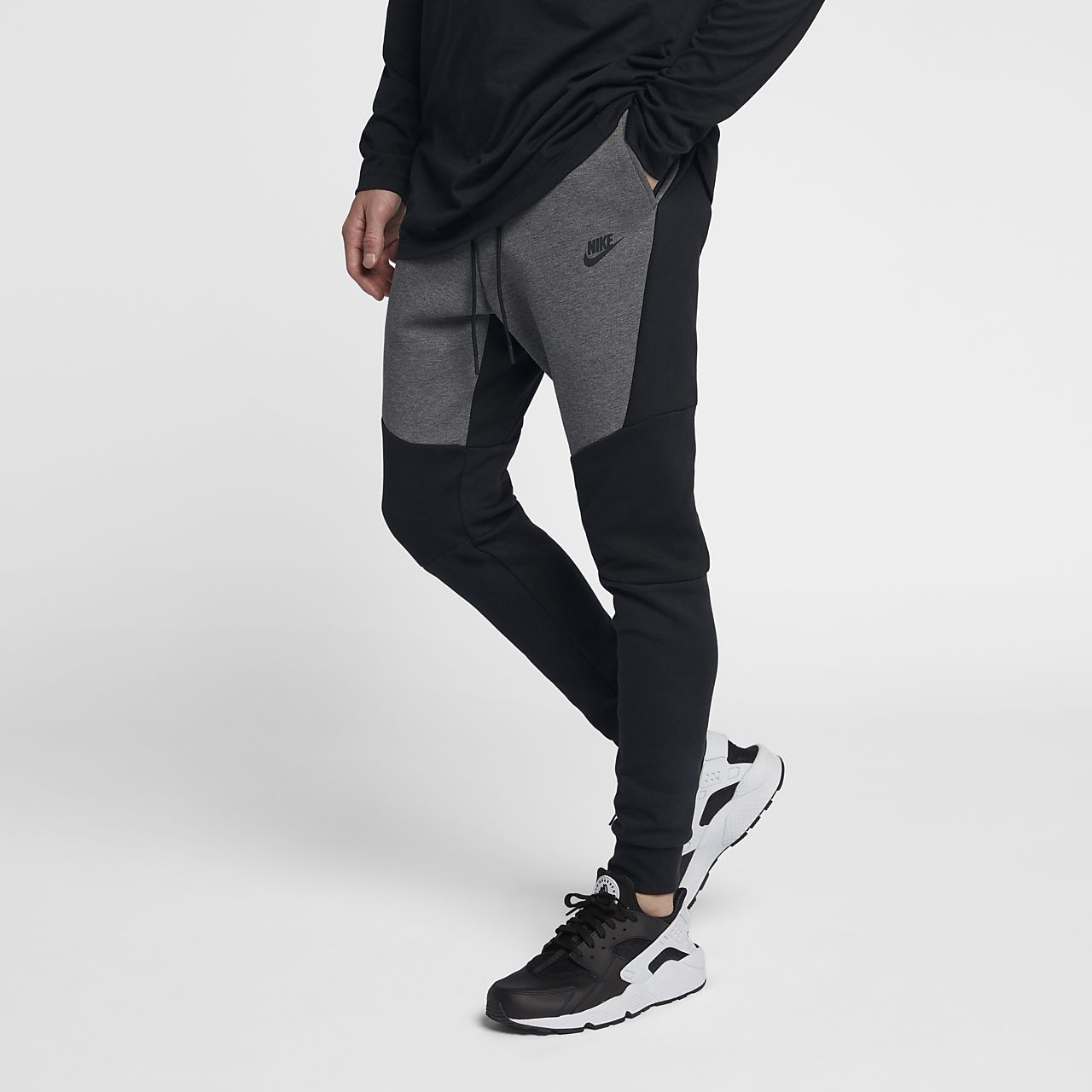 nike sportswear tech fleece joggingbroek heren nl. Black Bedroom Furniture Sets. Home Design Ideas