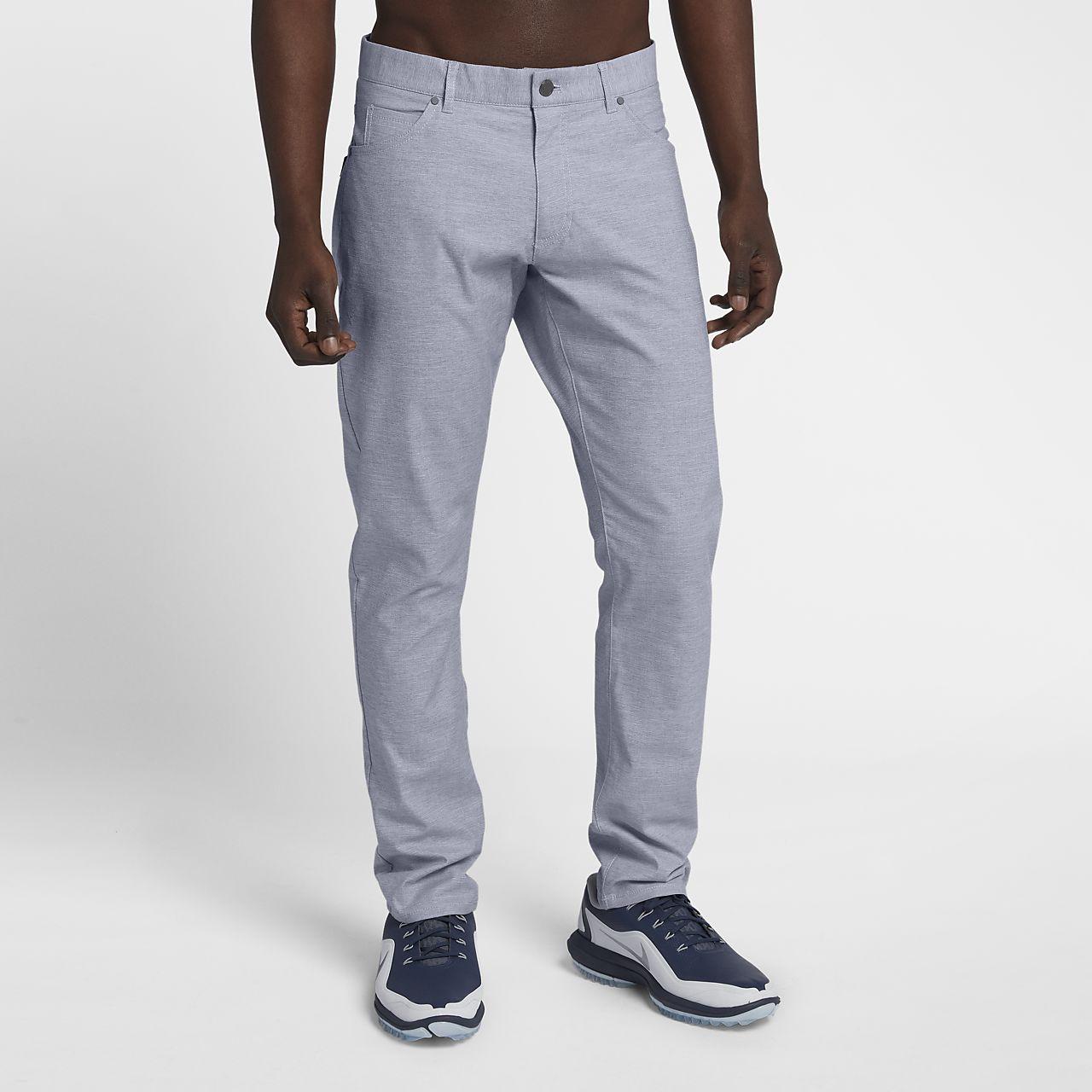 pantalon de golf coupe slim nike flex 5 pocket pour homme ch. Black Bedroom Furniture Sets. Home Design Ideas