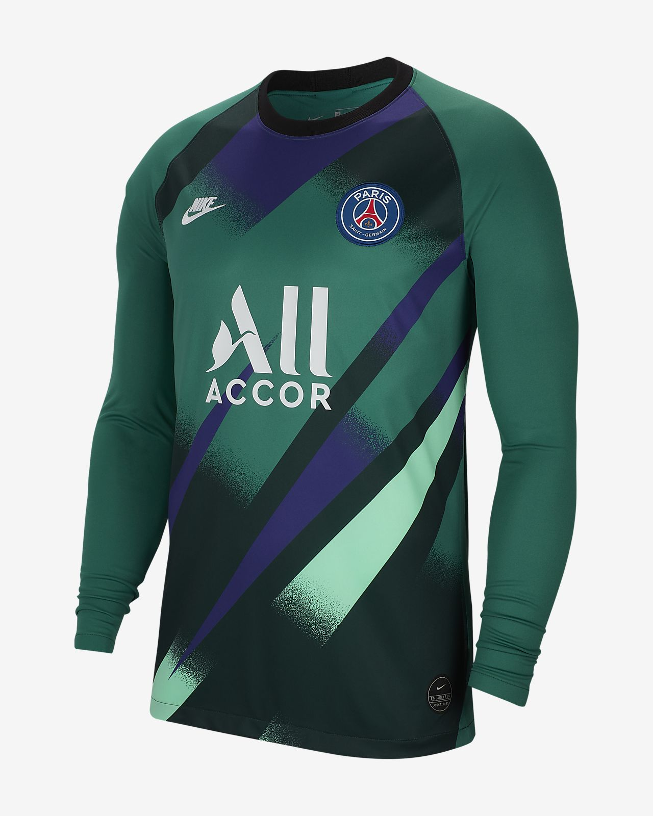 Paris Saint-Germain 2019/20 Stadium Goalkeeper Third Herren-Fußballtrikot