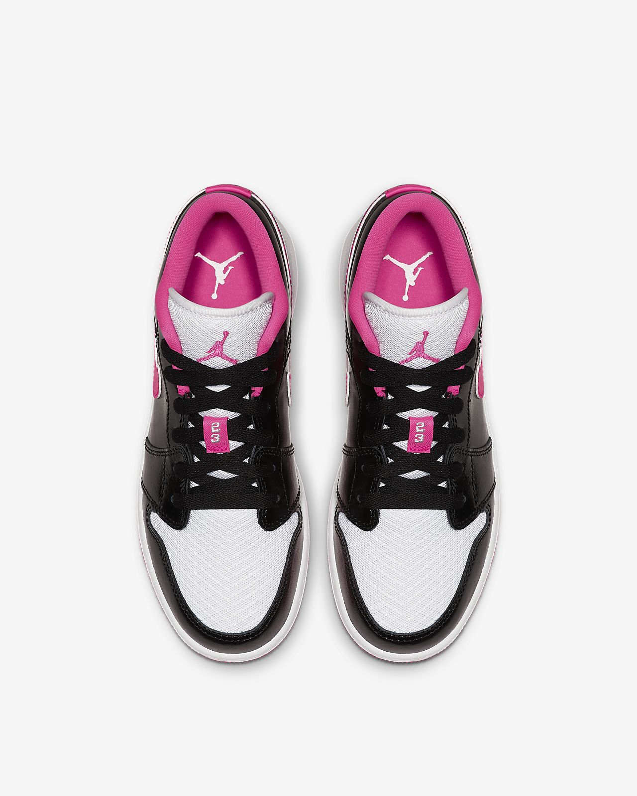 c771486dd31a Air Jordan 1 Low Big Kids  (Girls ) Shoe. Nike.com