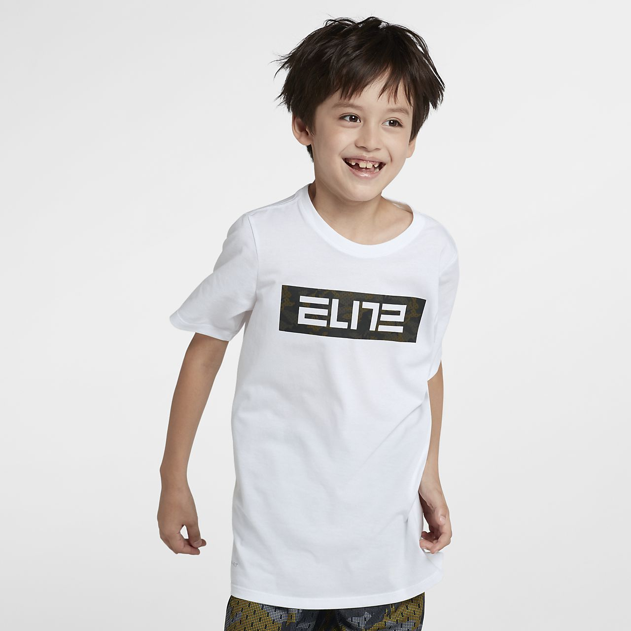 Nike Dri-FIT Big Kids' (Boys') Basketball T-Shirt