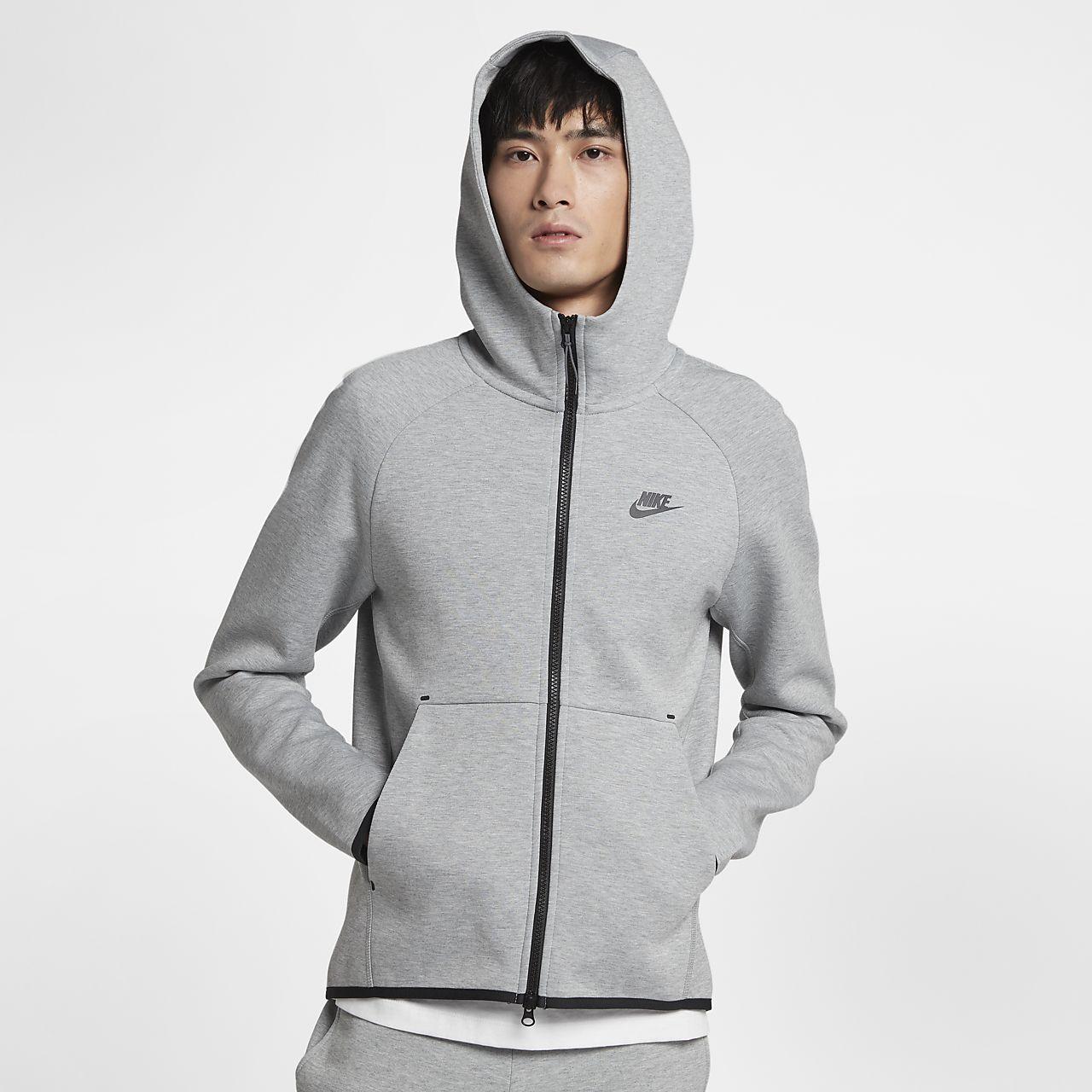 c15ac47c871fd7 ... Felpa con cappuccio e zip a tutta lunghezza Nike Sportswear Tech Fleece  - Uomo