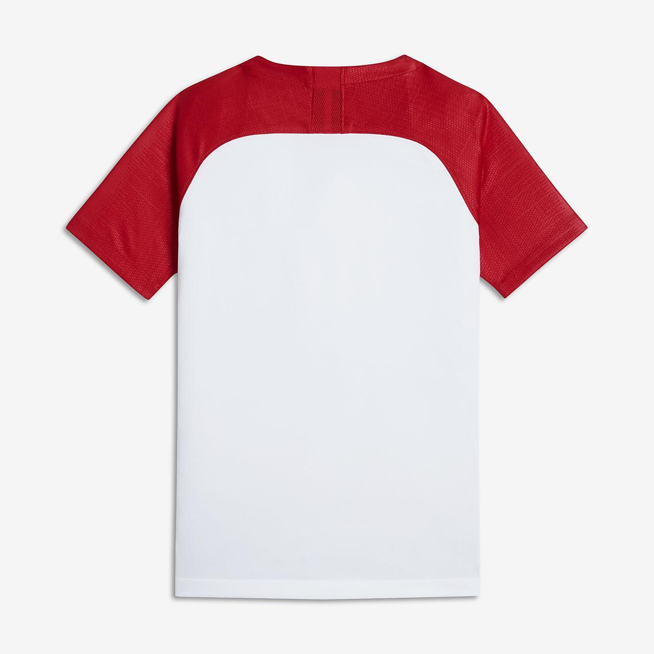 04b7188ab 2018 Croatia Stadium Home Older Kids  Football Shirt. Nike.com CA