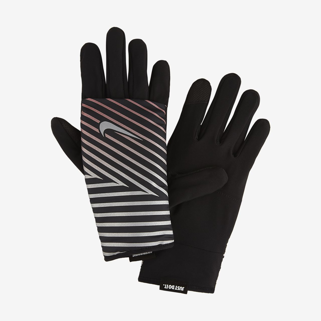 Nike Flash Quilted Guantes de running - Mujer
