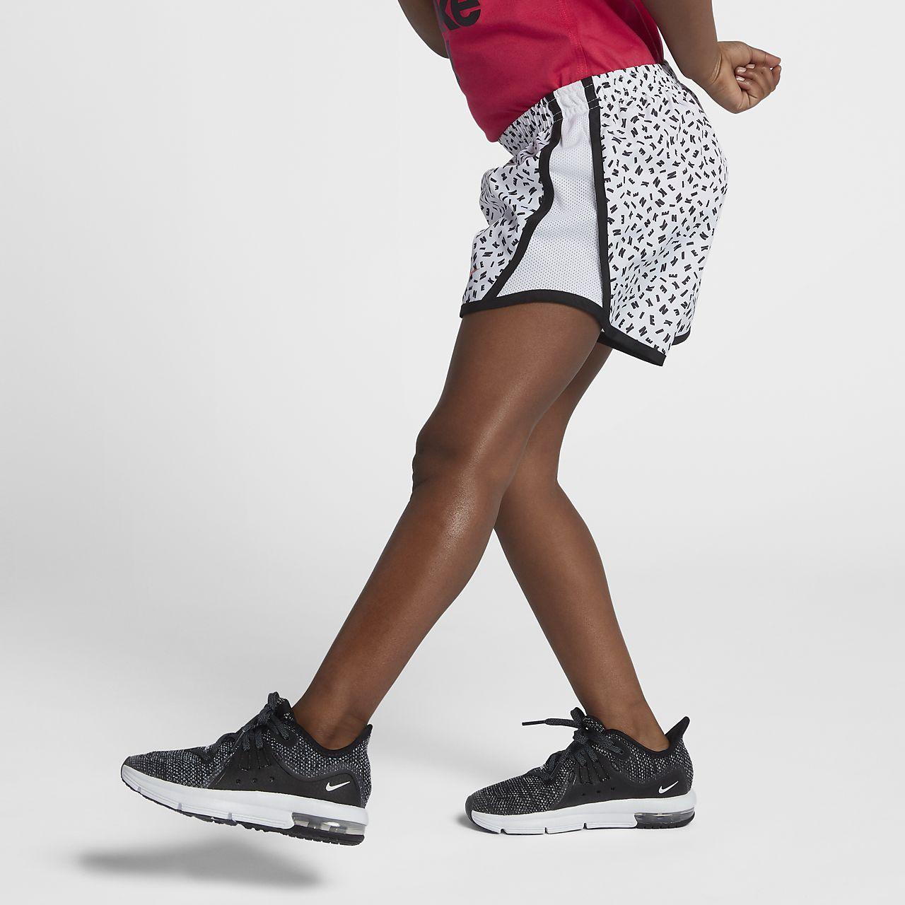 26a8b18f8b Nike Dri-FIT Tempo Little Kids' (Girls') Printed Shorts. Nike.com