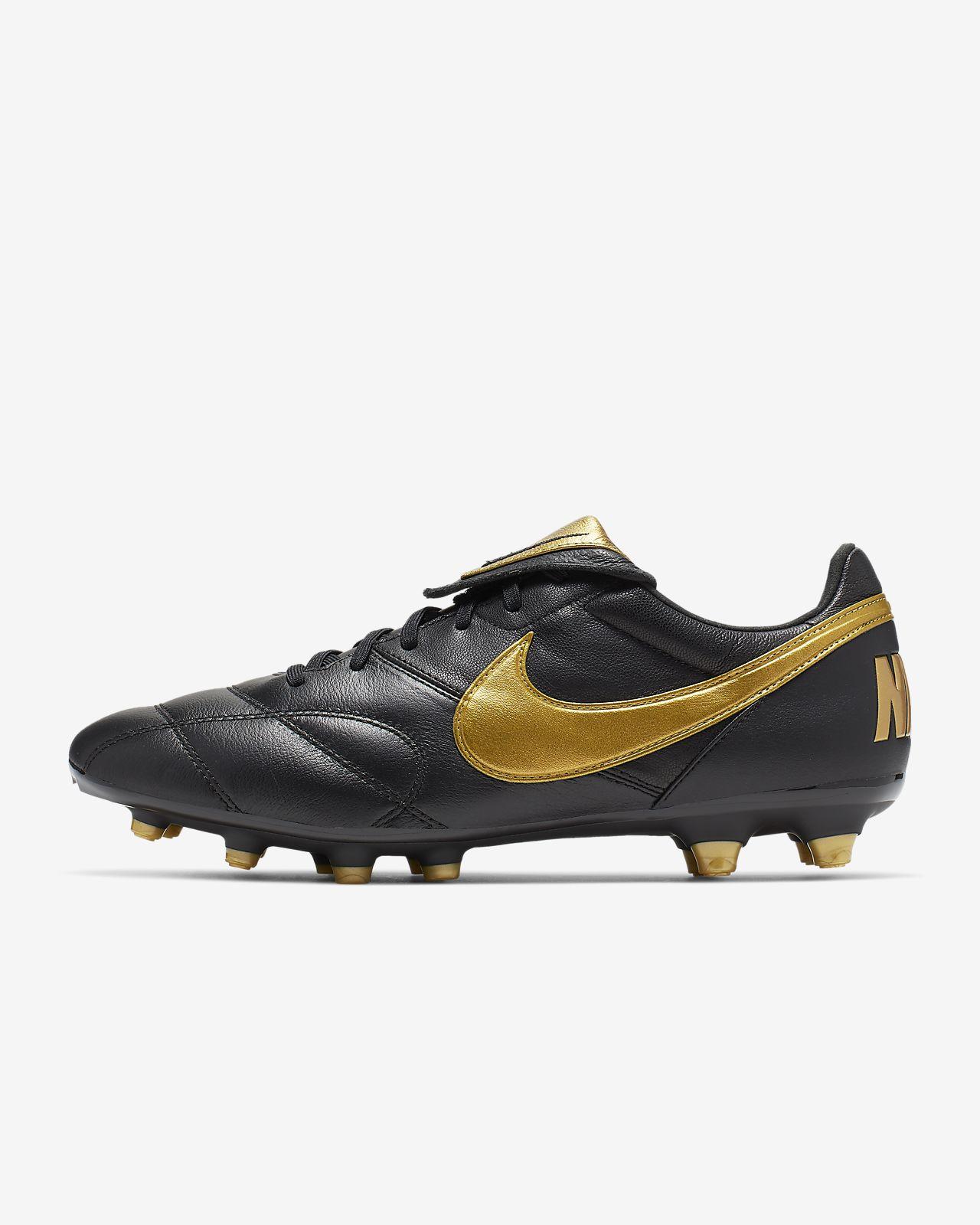 huge discount ce0b4 8a261 ... Chaussure de football à crampons pour terrain sec Nike Premier II FG