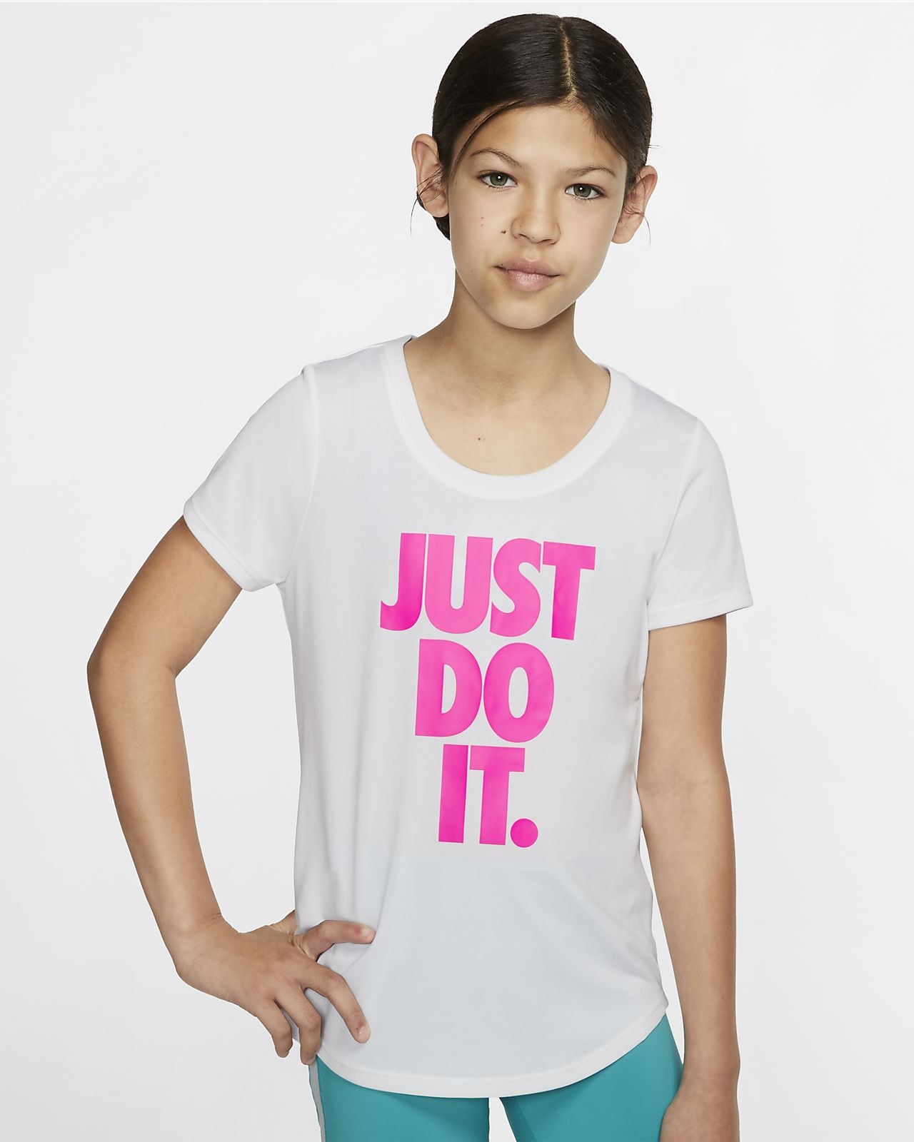 Nike Dri-FIT Older Kids' (Girls') Training T-Shirt