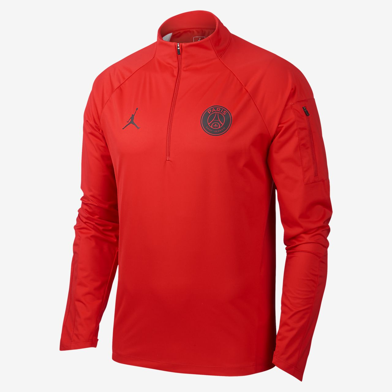 edd5994b3aaf1 Top para fútbol Paris Saint-Germain Shield Squad Drill para hombre ...