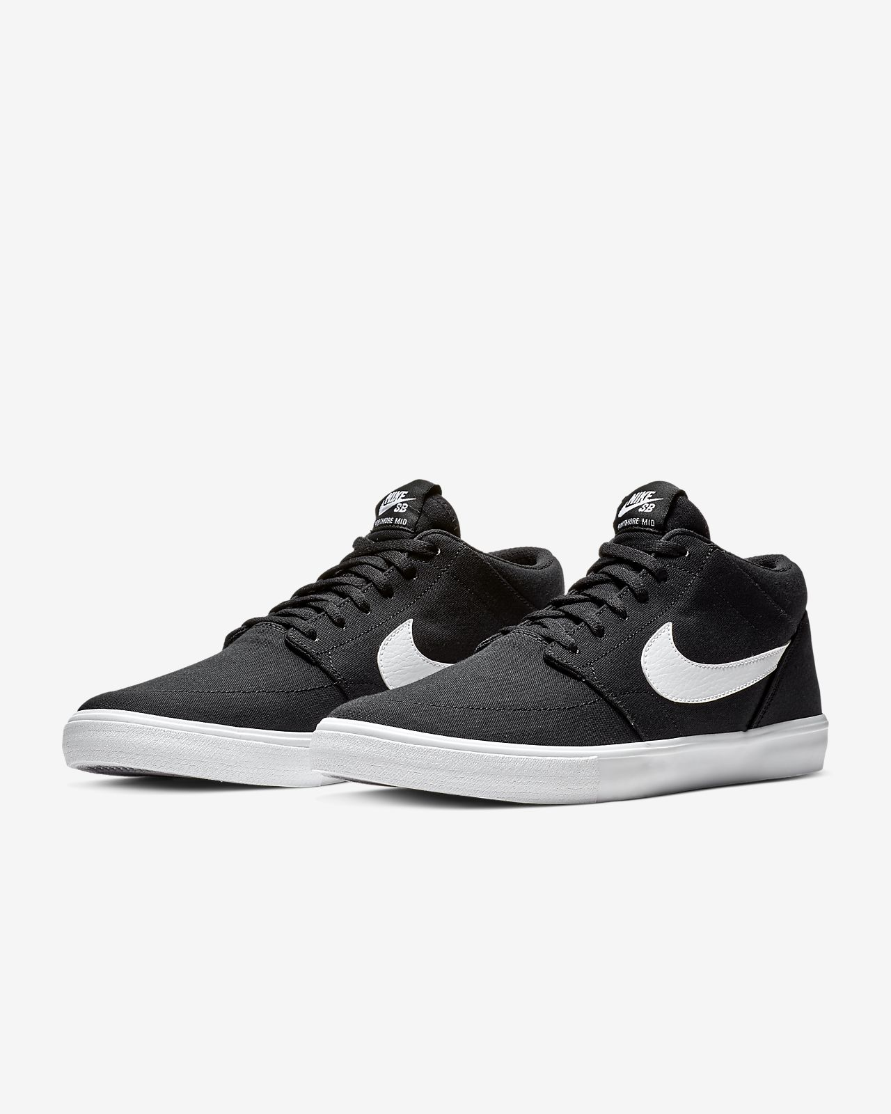 pretty nice 742b0 ba637 ... Nike SB Portmore 2 Solarsoft Mid Canvas Men s Skate Shoe