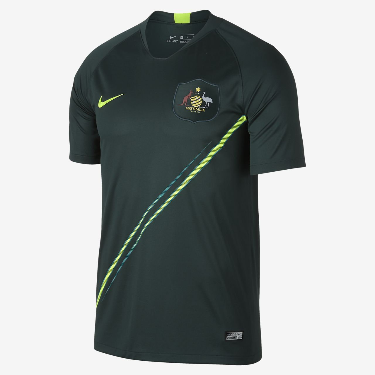 Camiseta de fútbol para hombre 2018 Australia Stadium Away