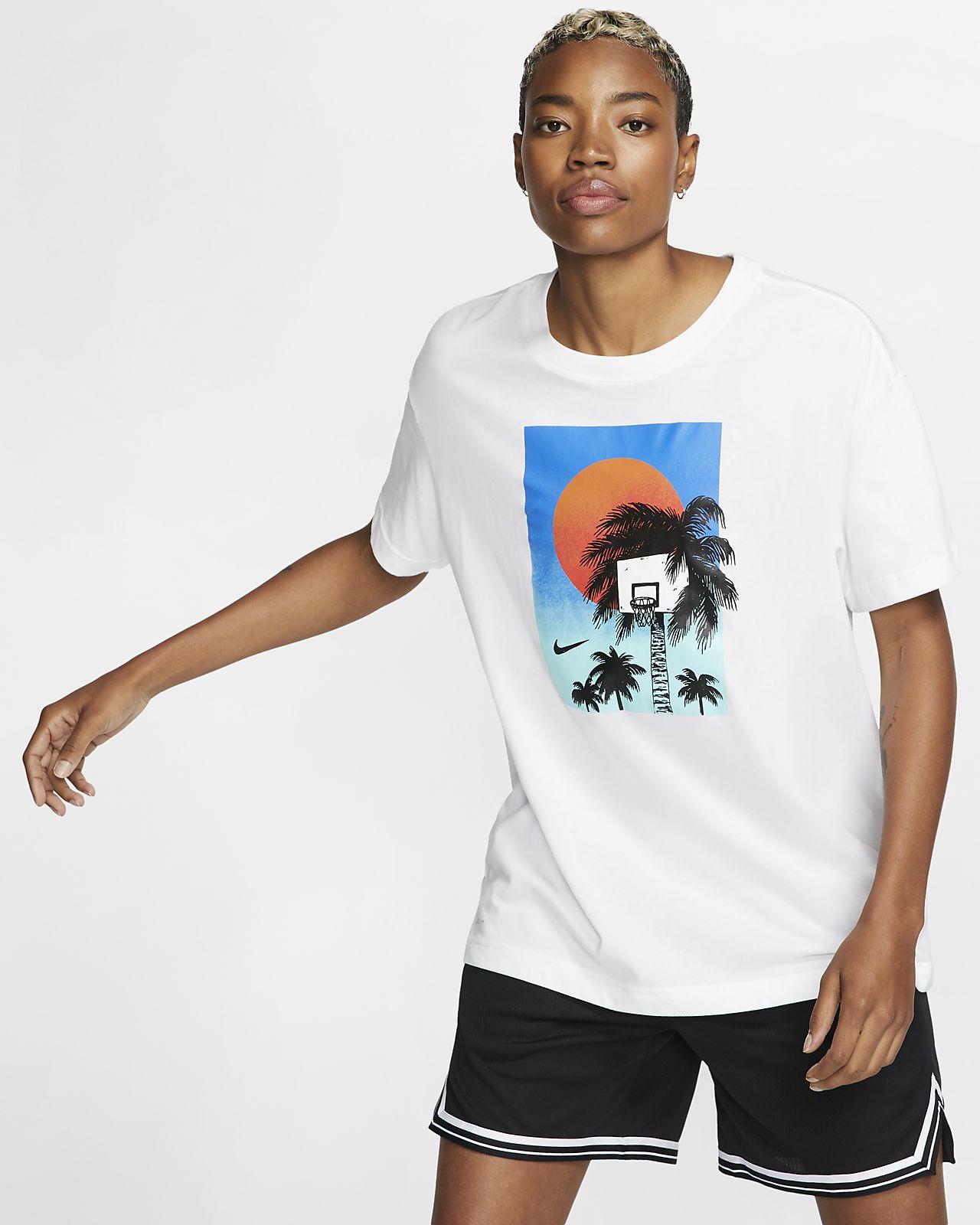 Damski T-shirt do koszykówki Nike Dri-FIT