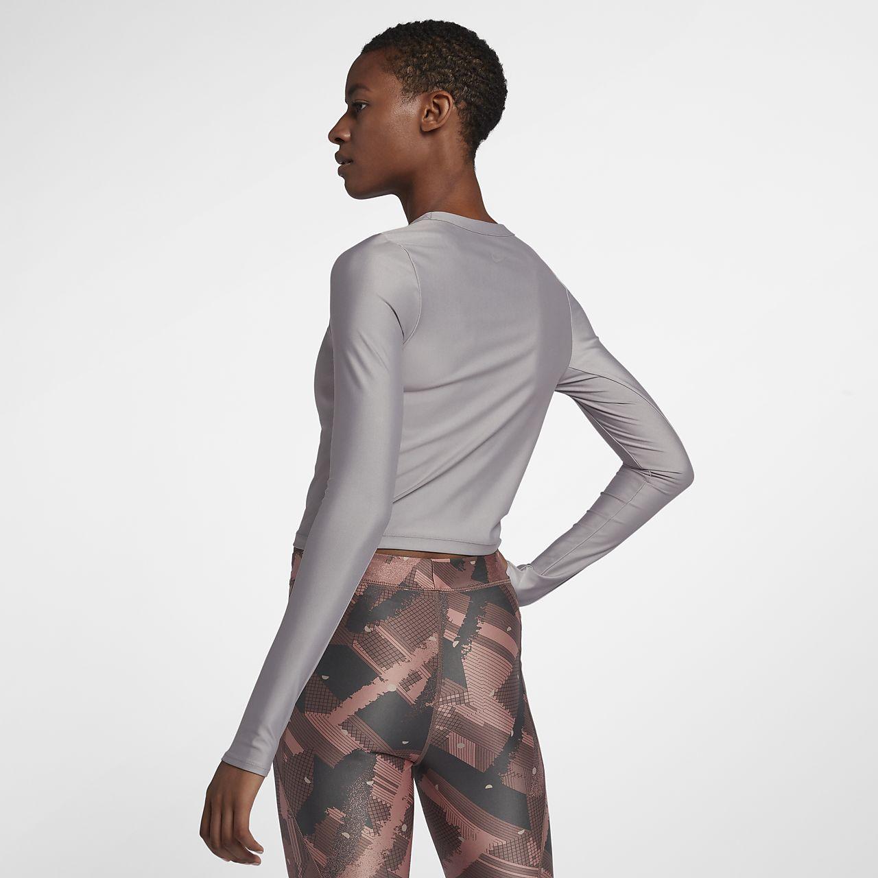 27f8155c0c5e Nike Speed Women s Long-Sleeve Metallic Running Top. Nike.com GB