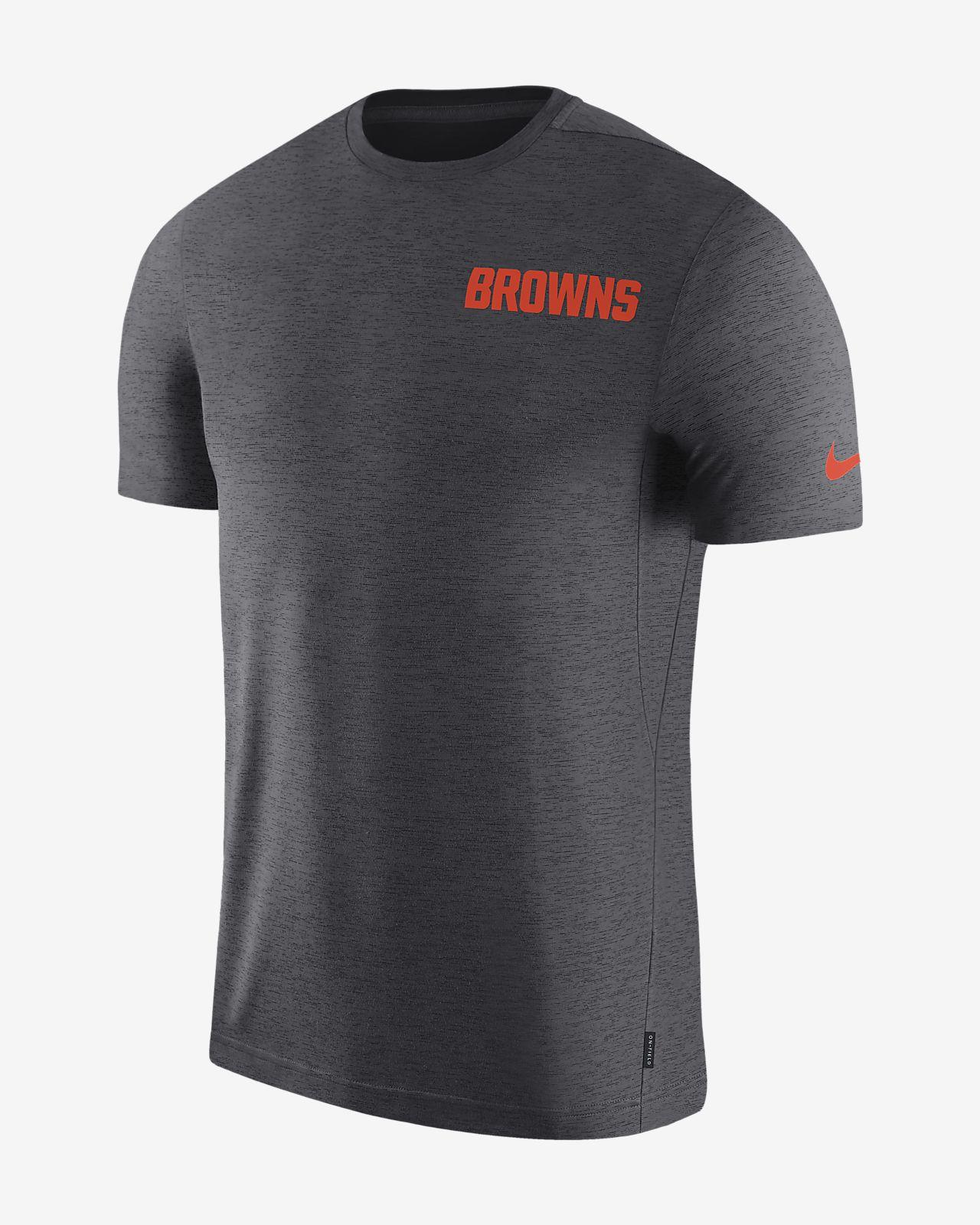 Nike Dri-FIT Coach (NFL Browns) Men's Short-Sleeve Top