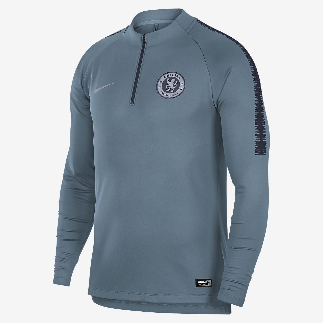 8bdc966cec Chelsea FC Dri-FIT Squad Drill Men s Long-Sleeve Football Top. Nike ...