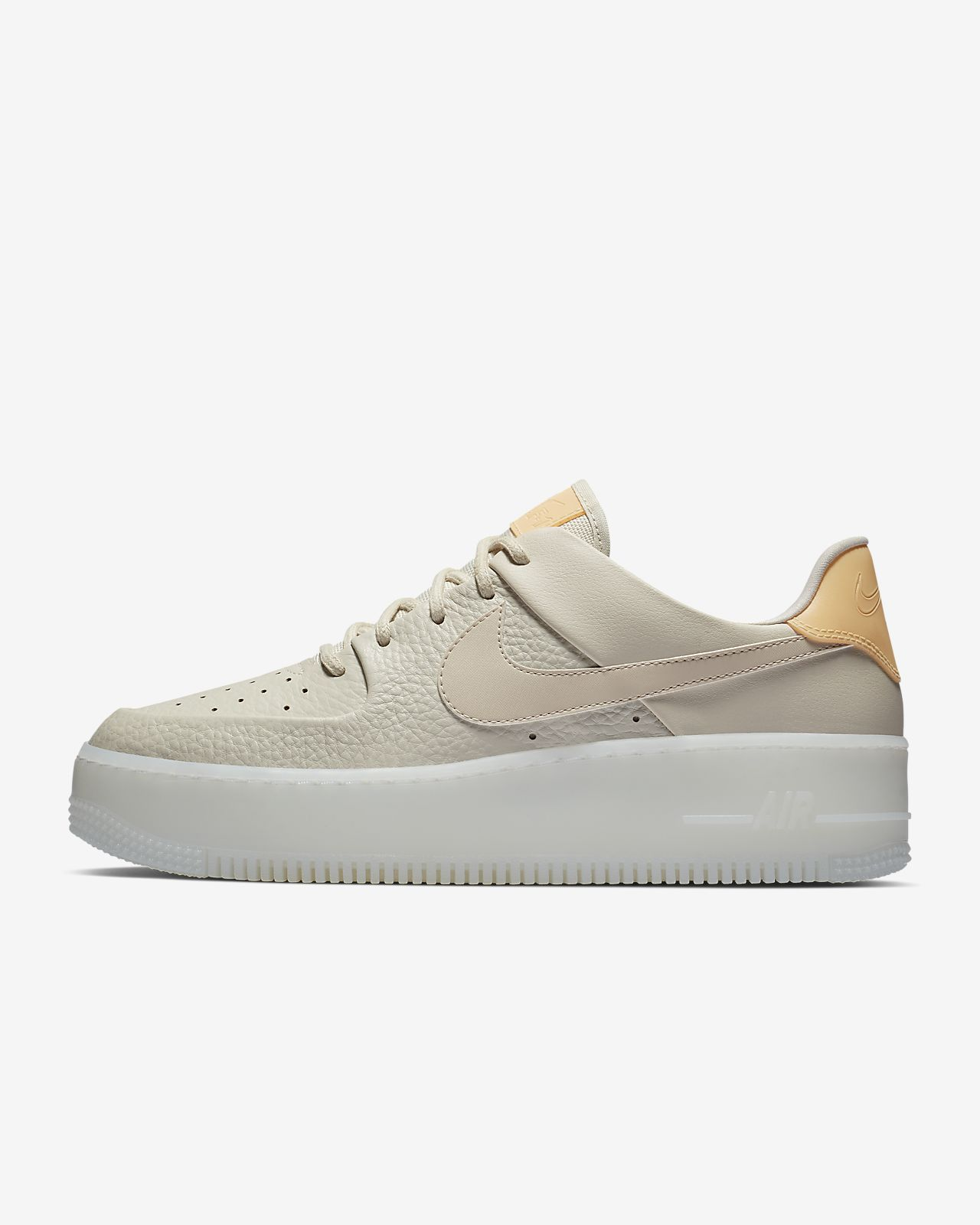 air force 1 sage zwart