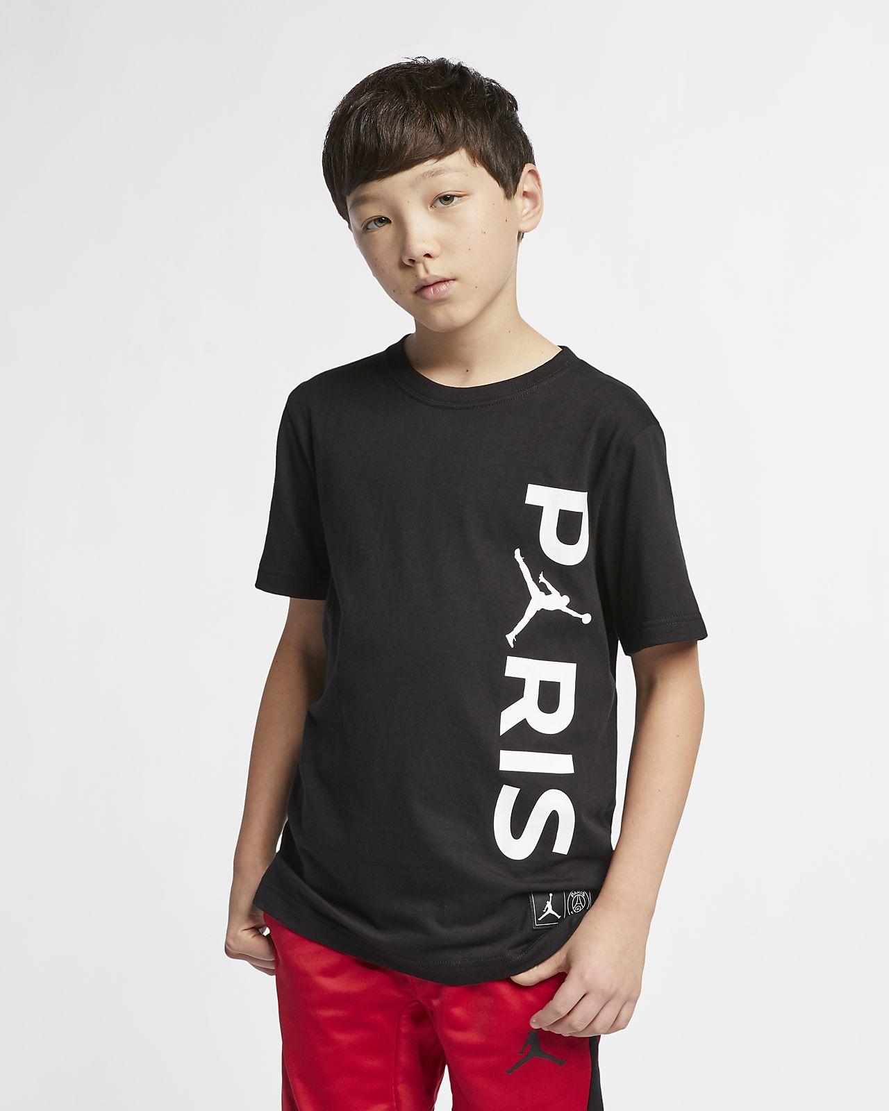 PSG-T-shirt til store børn (drenge)