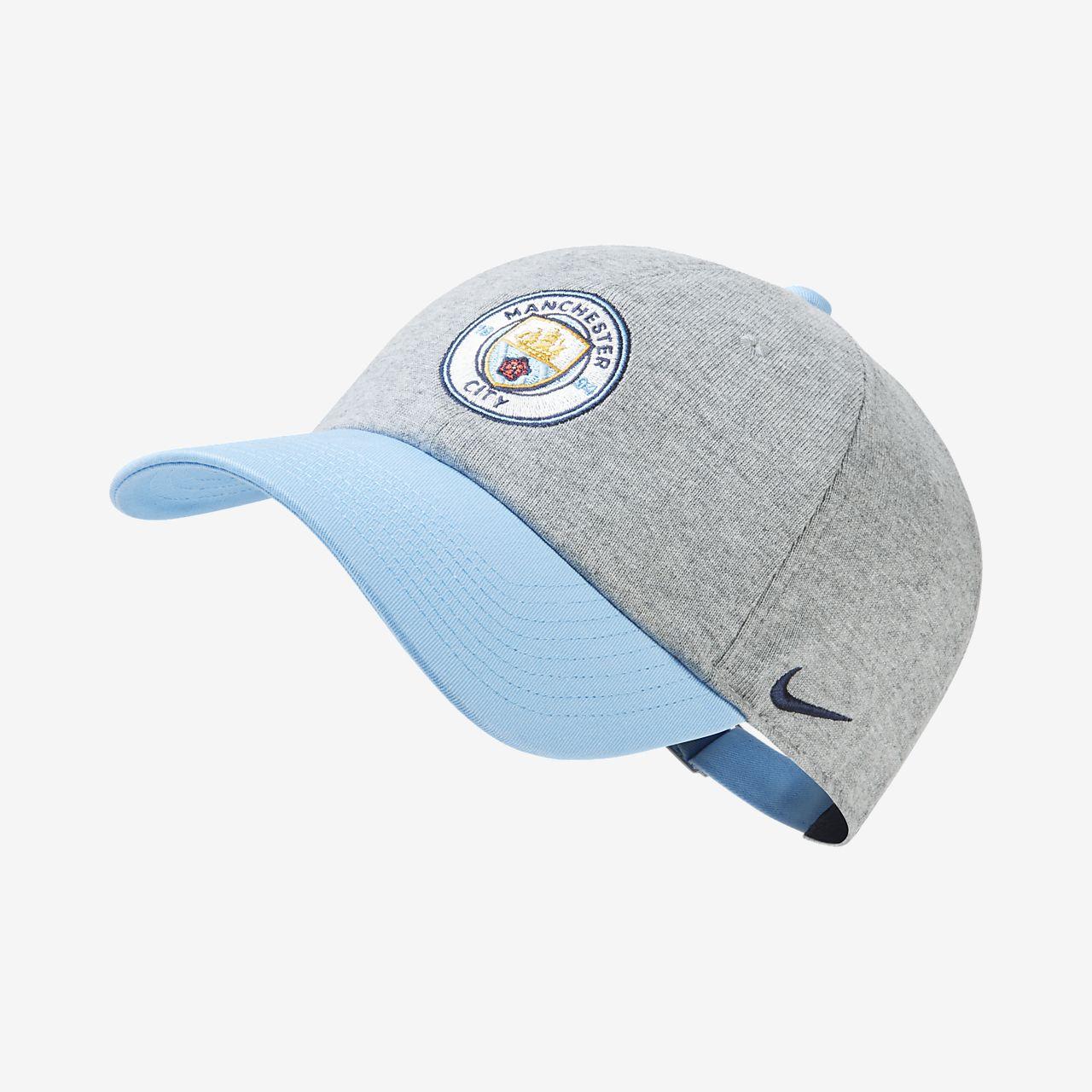 Manchester City FC Heritage 86 Gorra regulable. Nike.com ES c7bd69bd906