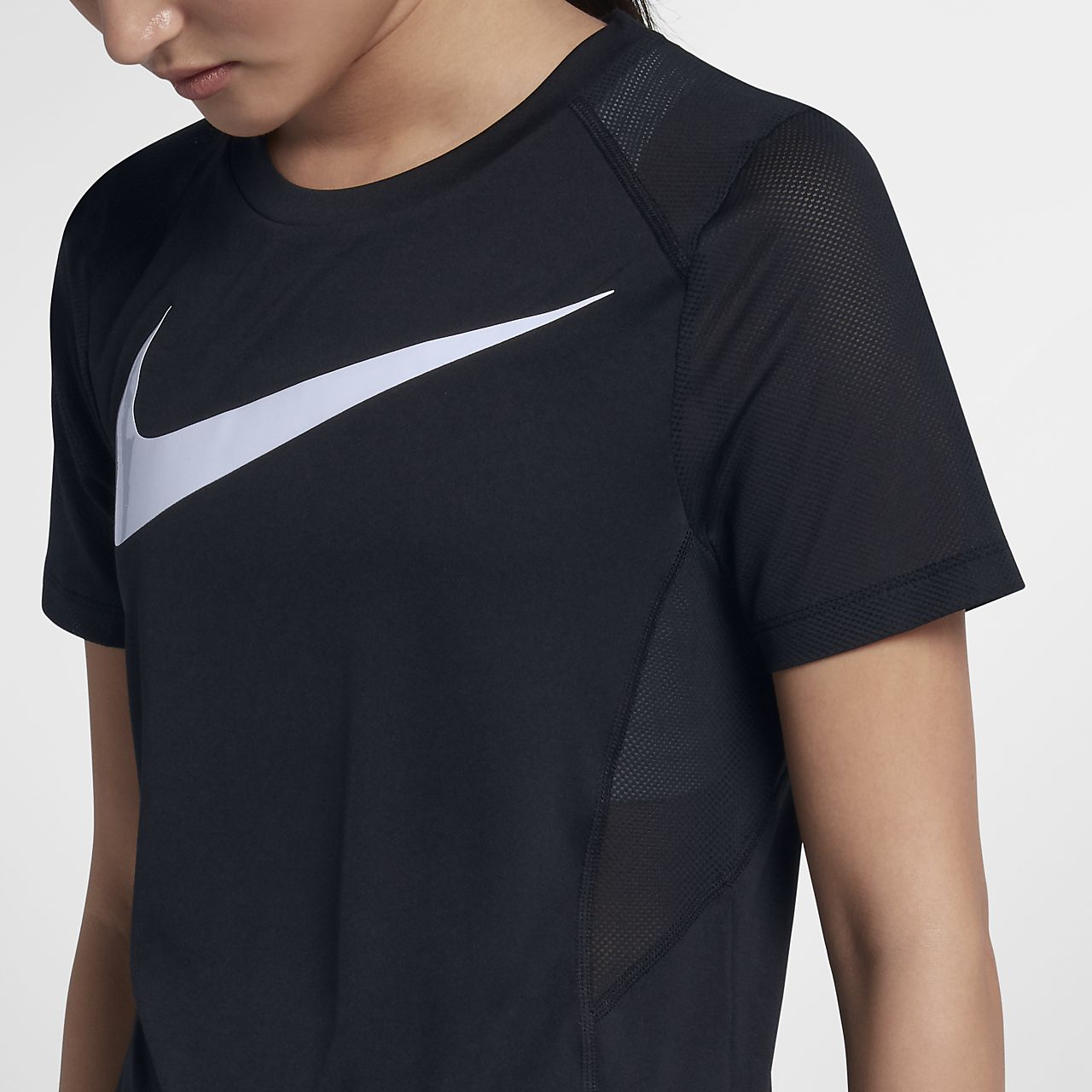 Nike Miler Damen Kurzarm Laufoberteil