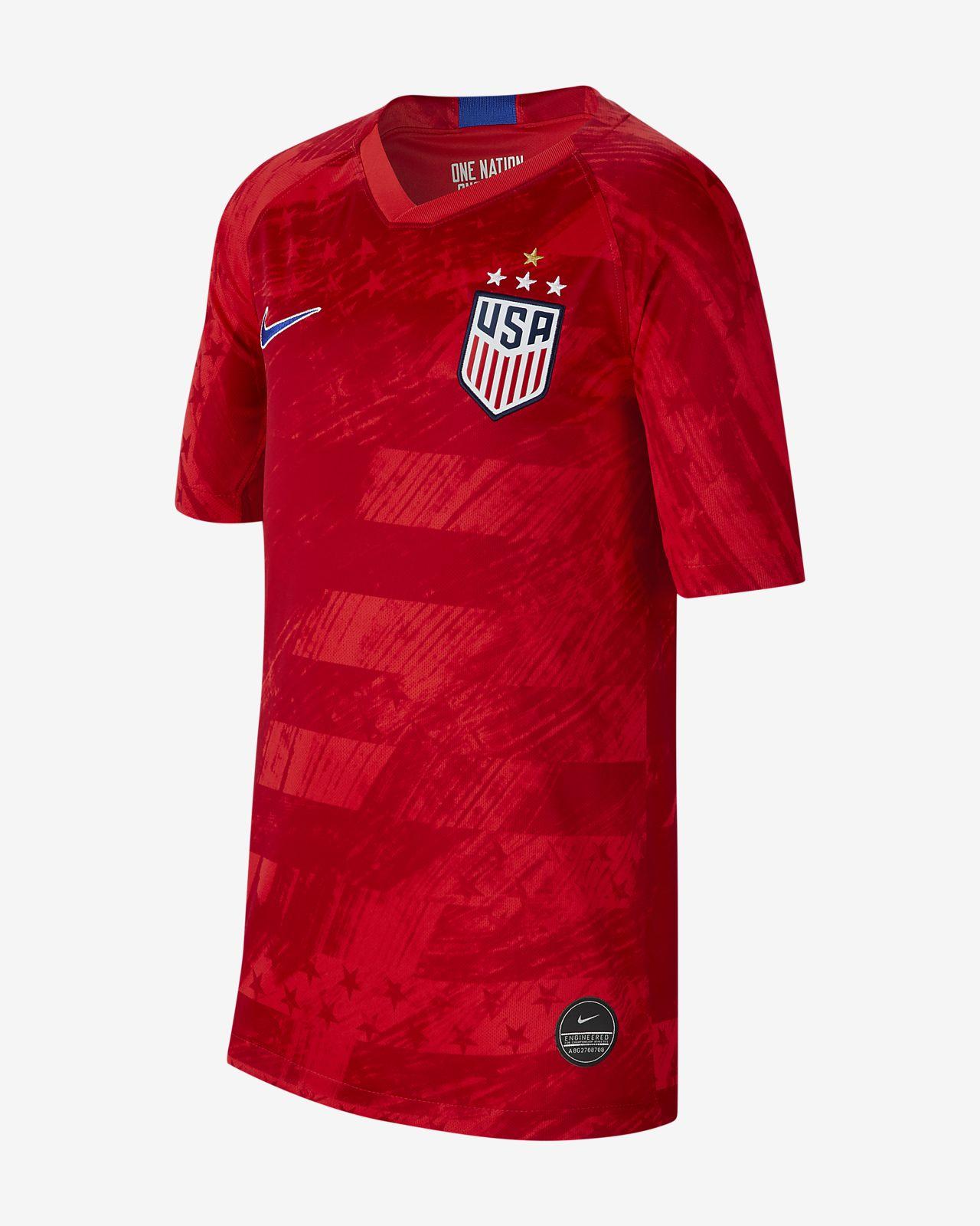 U.S. 2019 Stadium Away (4-Star) Big Kids' Soccer Jersey
