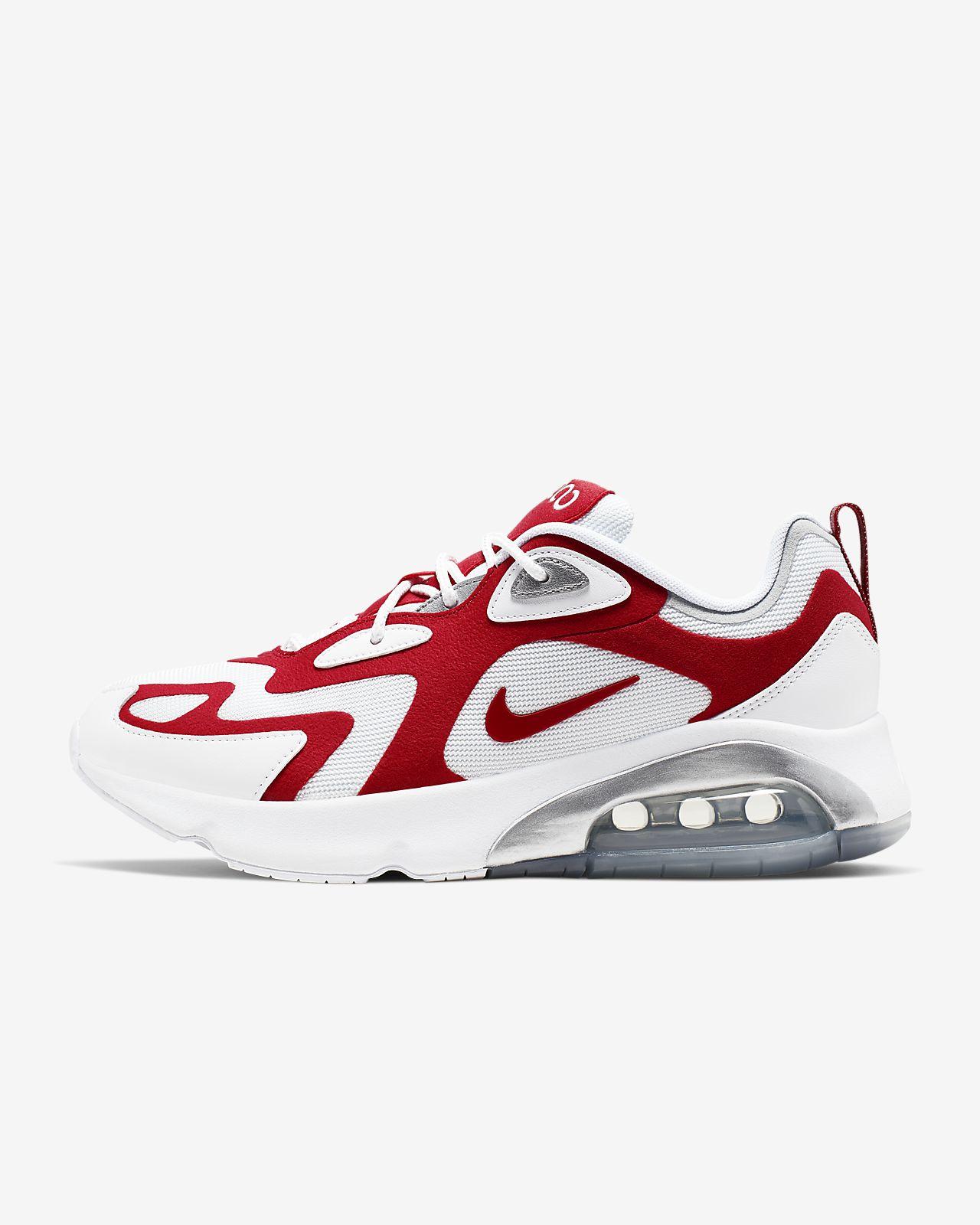 nike air max uomo running scarpe red nero
