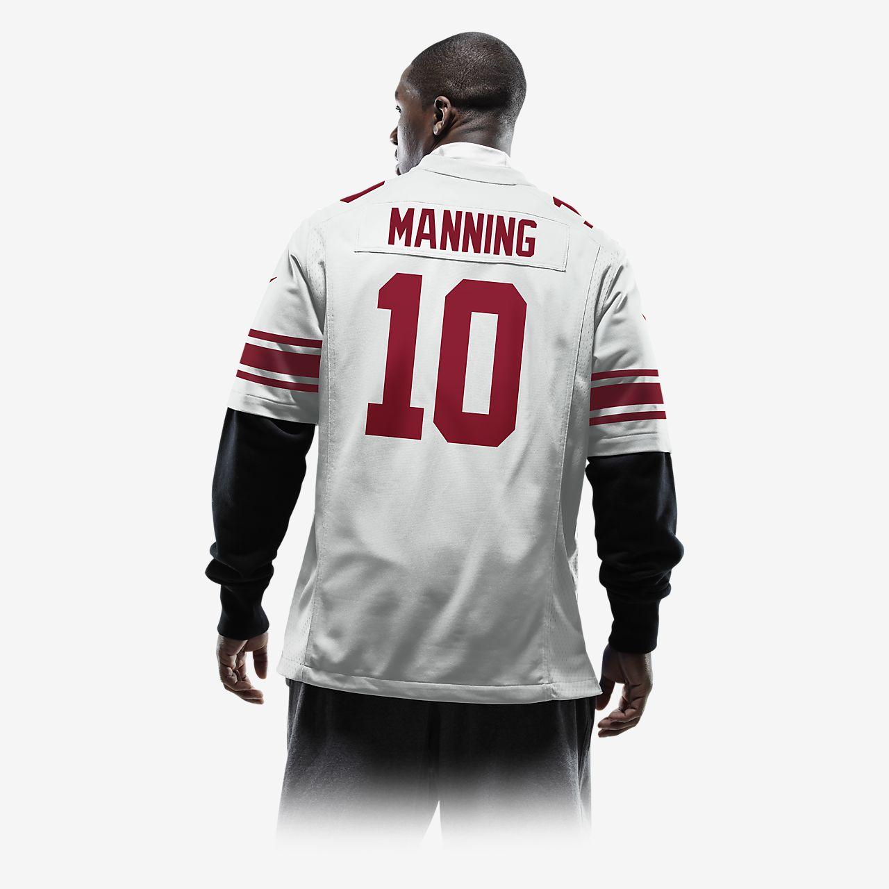 ... NFL New York Giants (Eli Manning) Men's Football Away Game Jersey