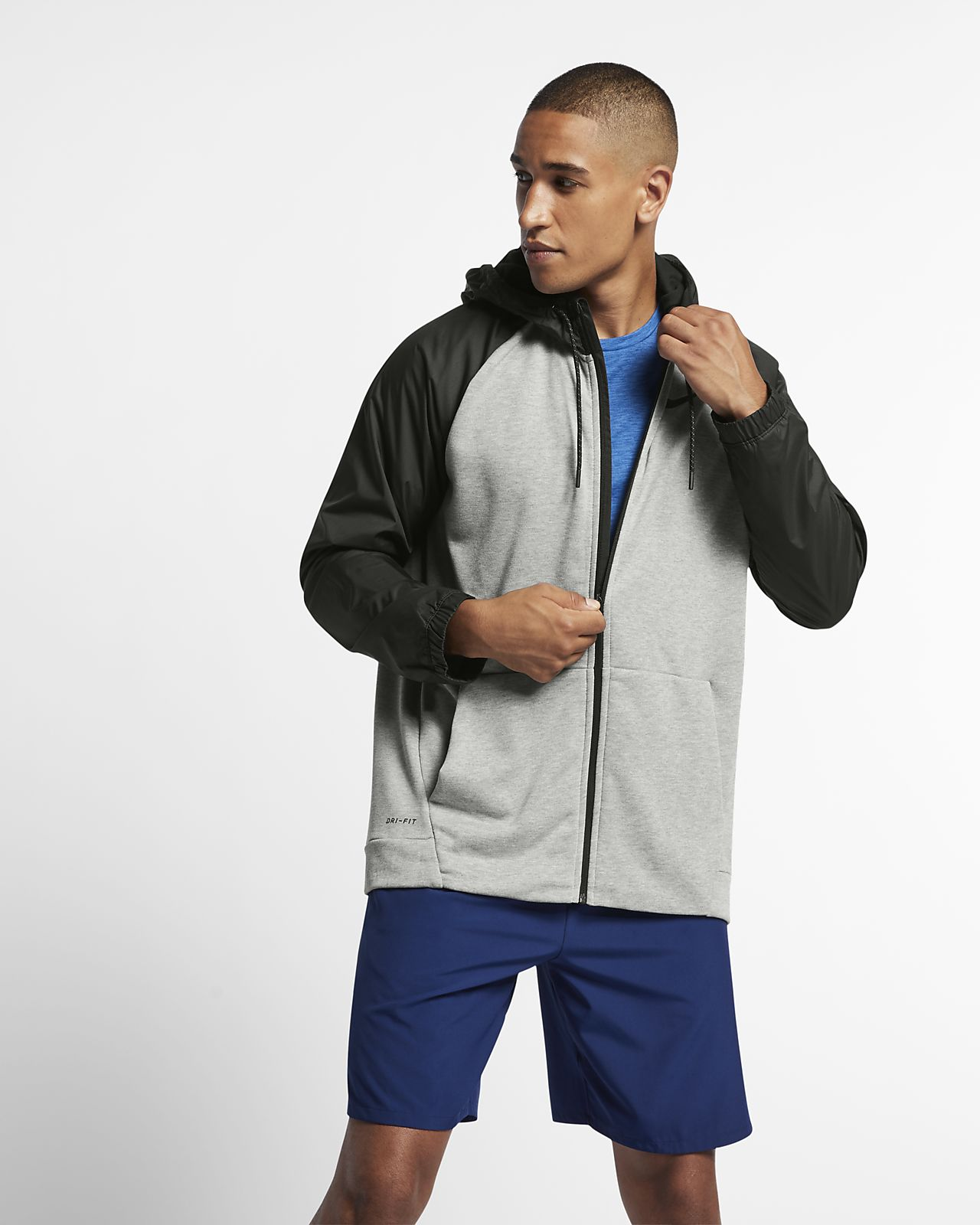 145545bae3 Nike Dri-FIT Men's Utility Full-Zip Training Hoodie. Nike.com