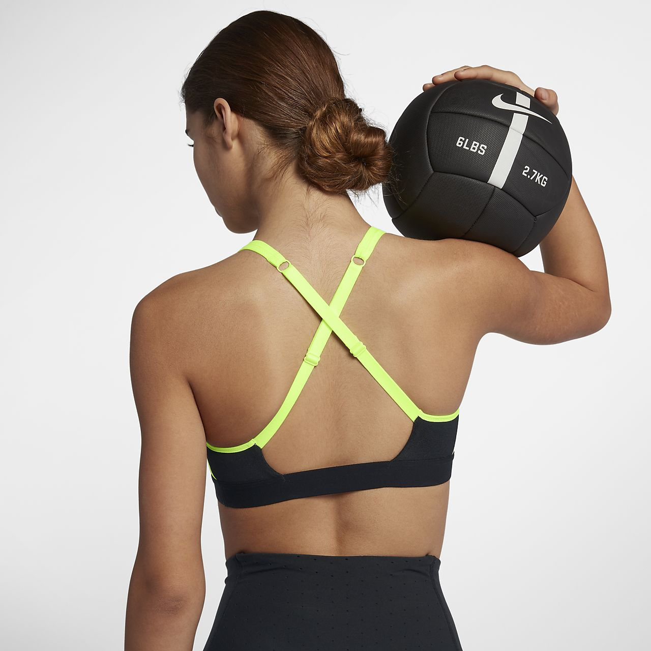 Nike Classic Strappy Women's Medium Support Sports Bra