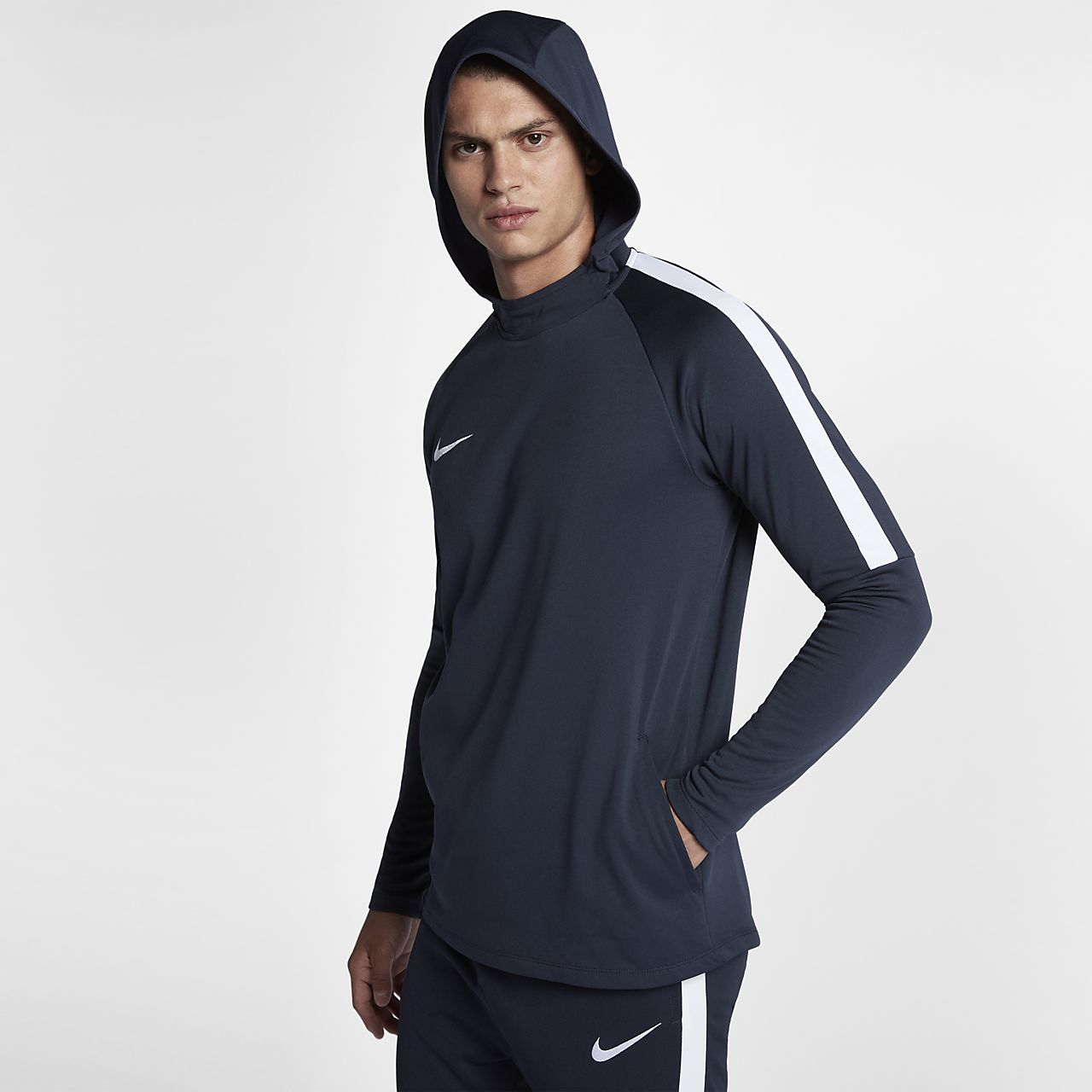 4471c4466d98 Nike Dri-FIT Academy Men s Pullover Football Hoodie. Nike.com NO