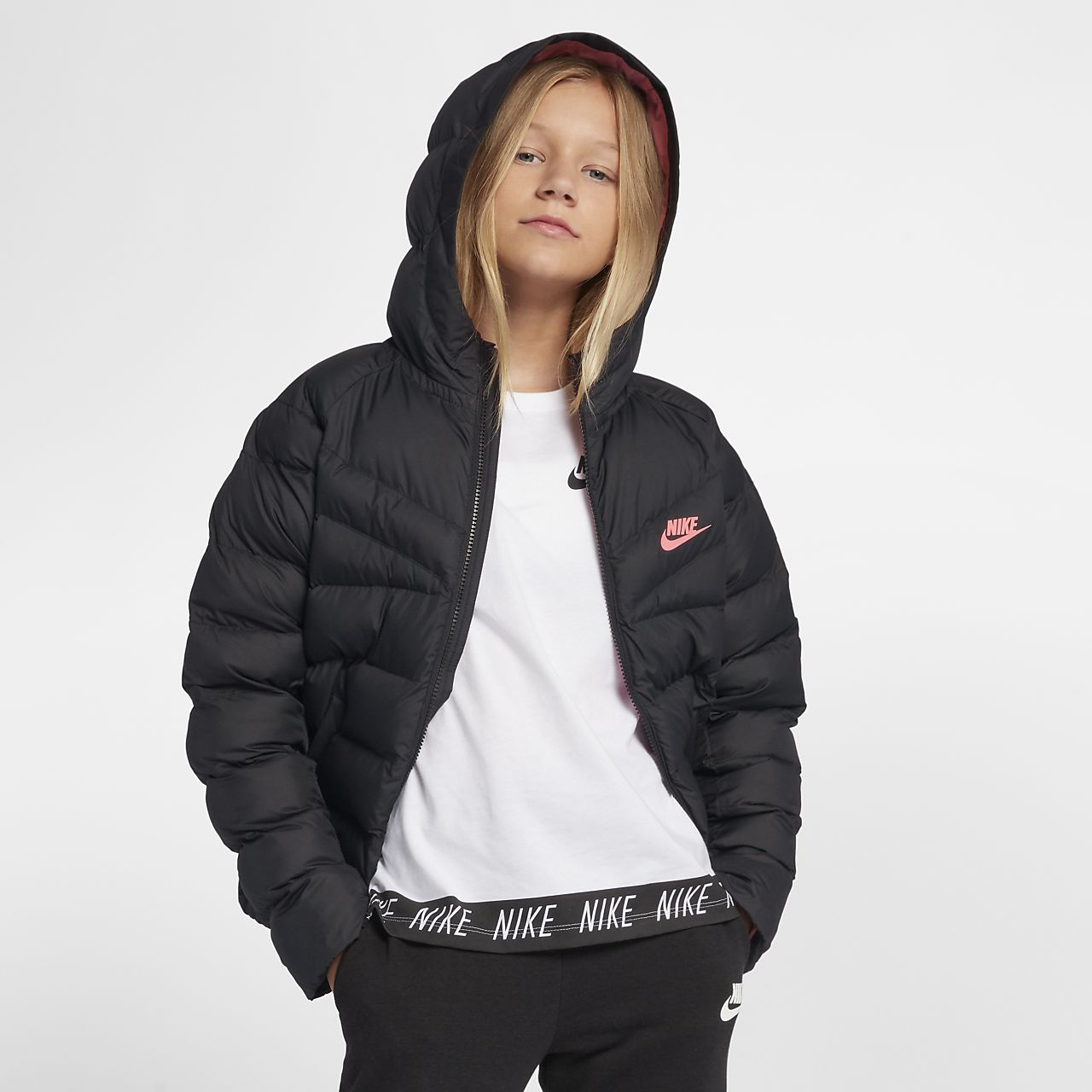 d86e6c869 Nike Sportswear Older Kids' Synthetic-Fill Jacket. Nike.com DK