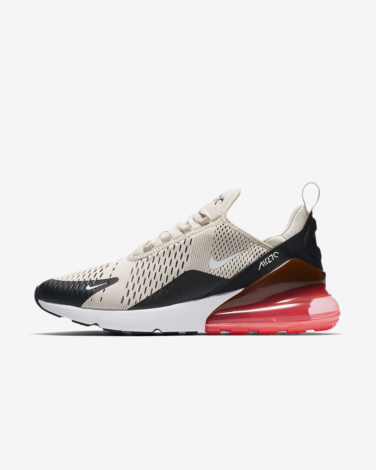 Durable Nike Air Max 27C Kpu Burgundy Black White Footwear