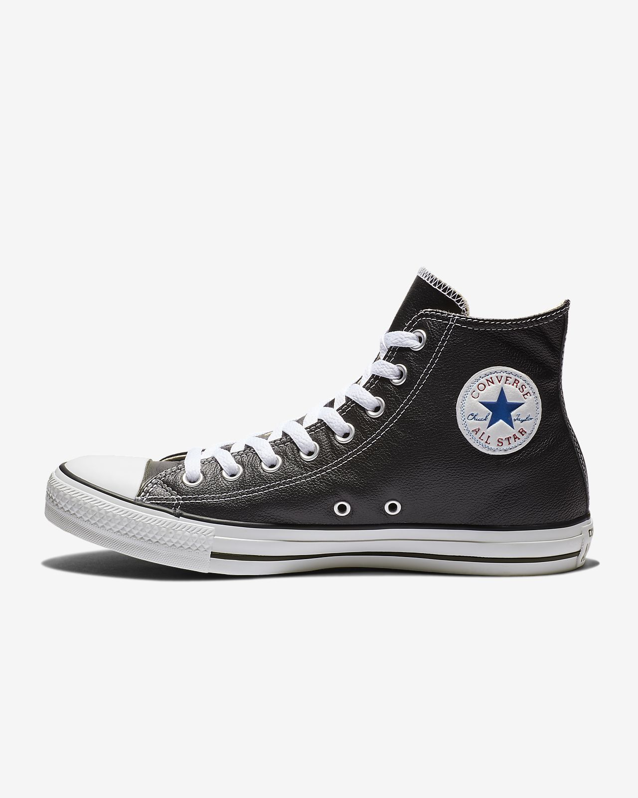 chucks converse high leder