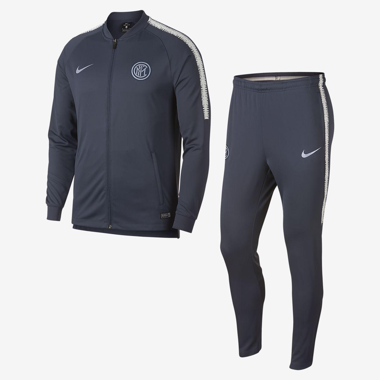 Tuta da calcio Inter Dri-FIT Squad - Uomo. Nike.com IT b6f30d29f555