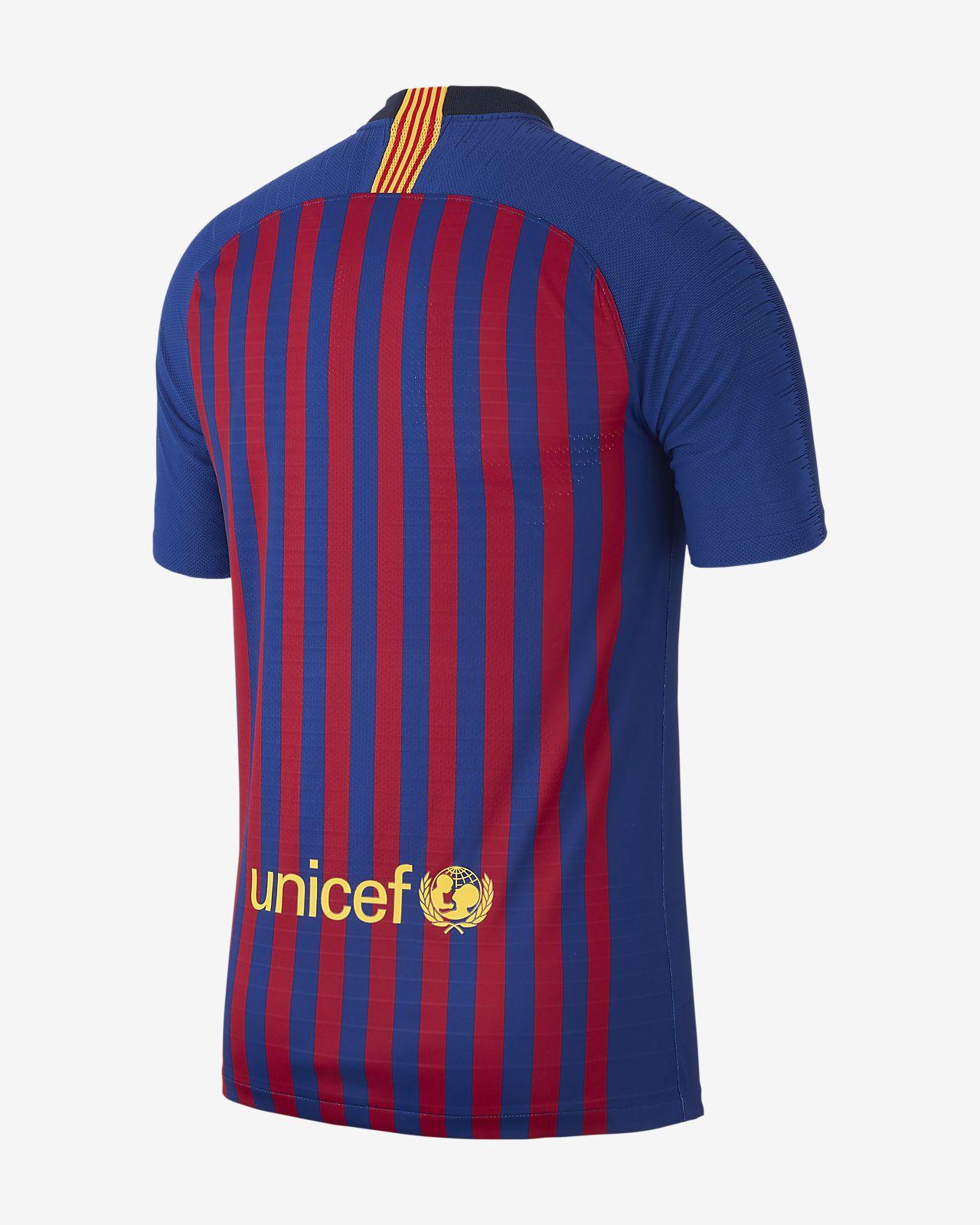 00891c5b871d 2018 19 FC Barcelona Vapor Match Home Men s Football Shirt. Nike.com CA