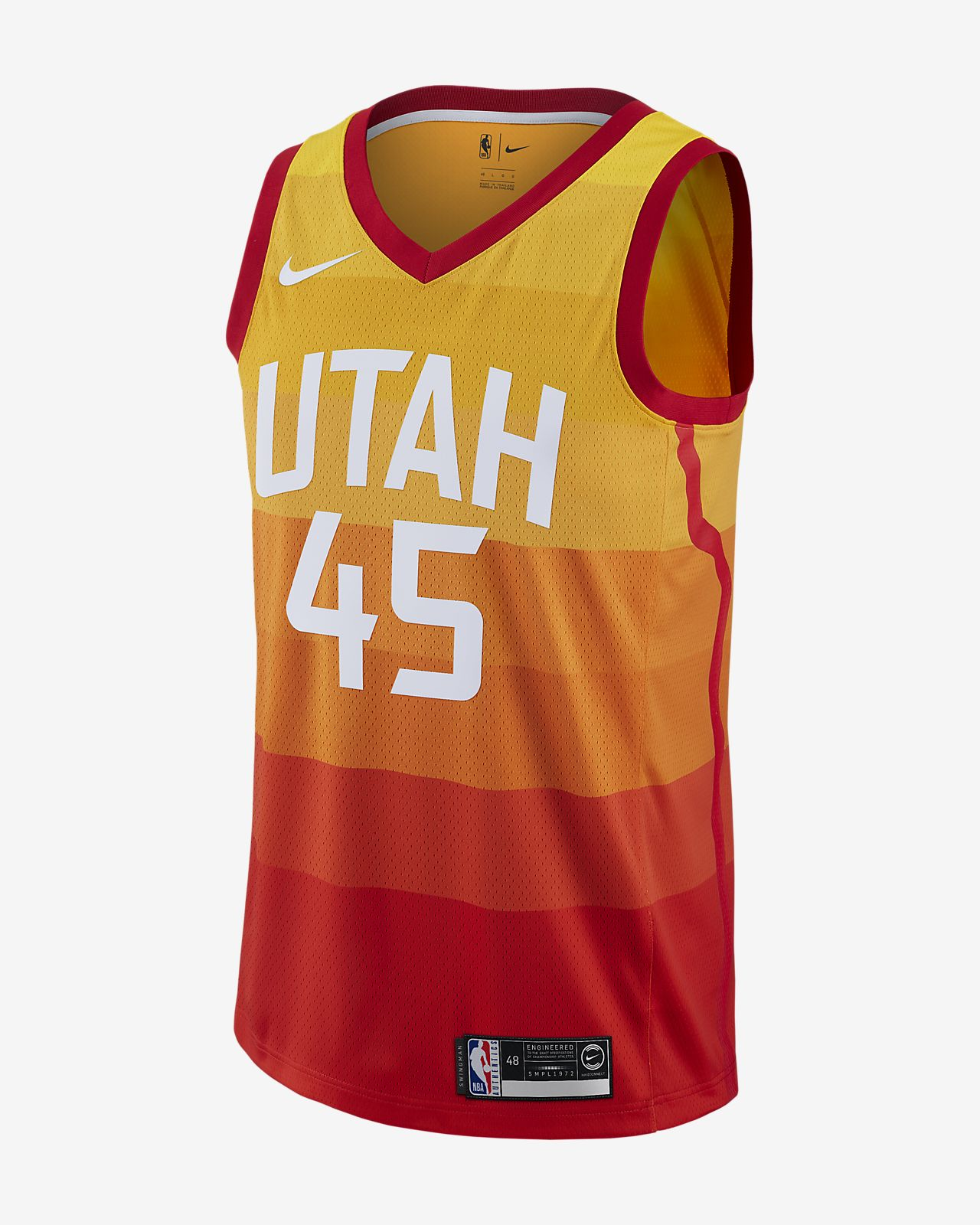 reputable site 1330d f738f Donovan Mitchell City Edition Swingman (Utah Jazz) Men's Nike NBA Connected  Jersey