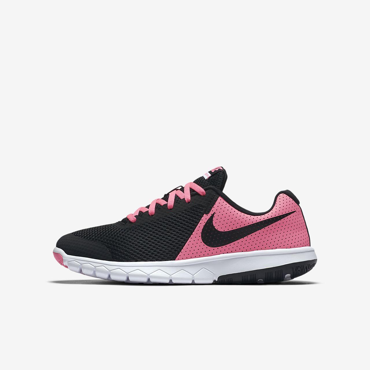 Nike Performance FLEX EXPERIENCE RUN 7 - Chaussures de running neutres - black / white PayjkNz