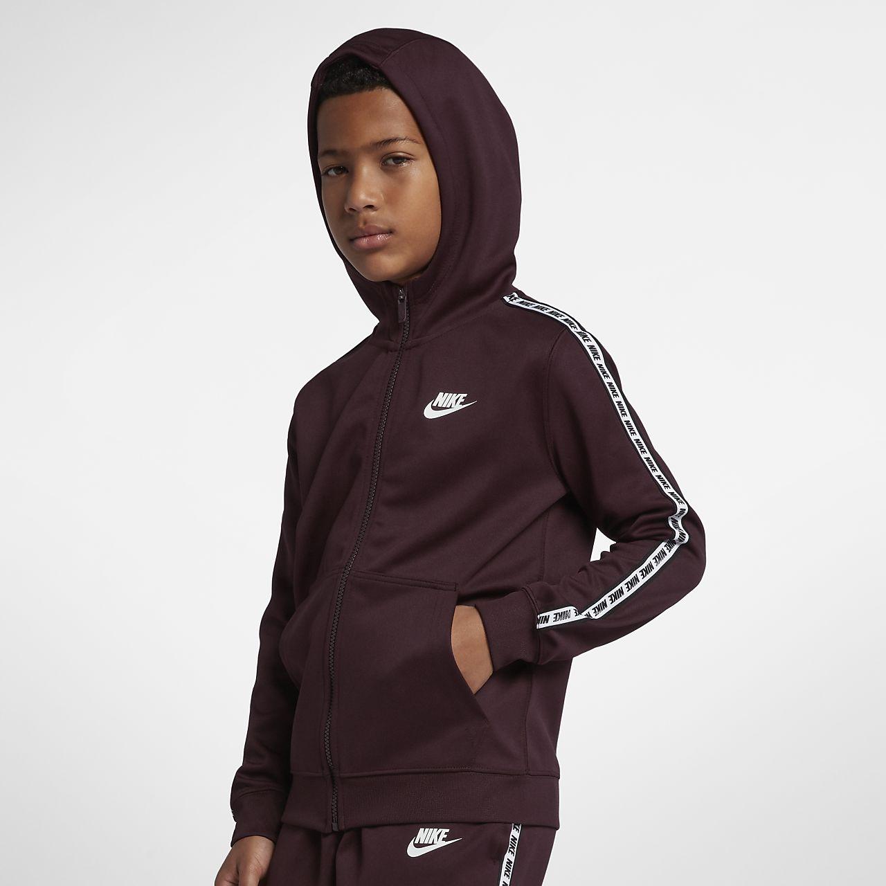 Sports Full nett Nike Sportswear HoodieJD Older Kids' Zip EDIWH29