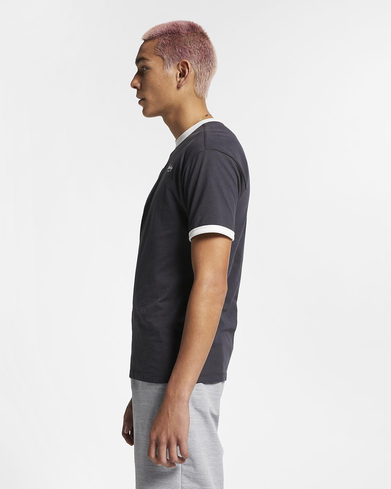 buy popular 52b9c e4e5c ... Kortärmad tröja Hurley Dri-FIT Harvey Ringer för män