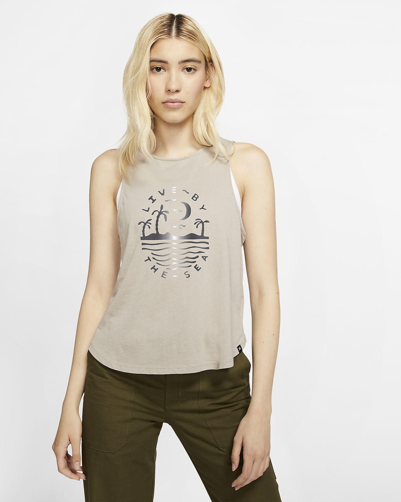 Hurley Seaside Flouncy Tanktop voor dames