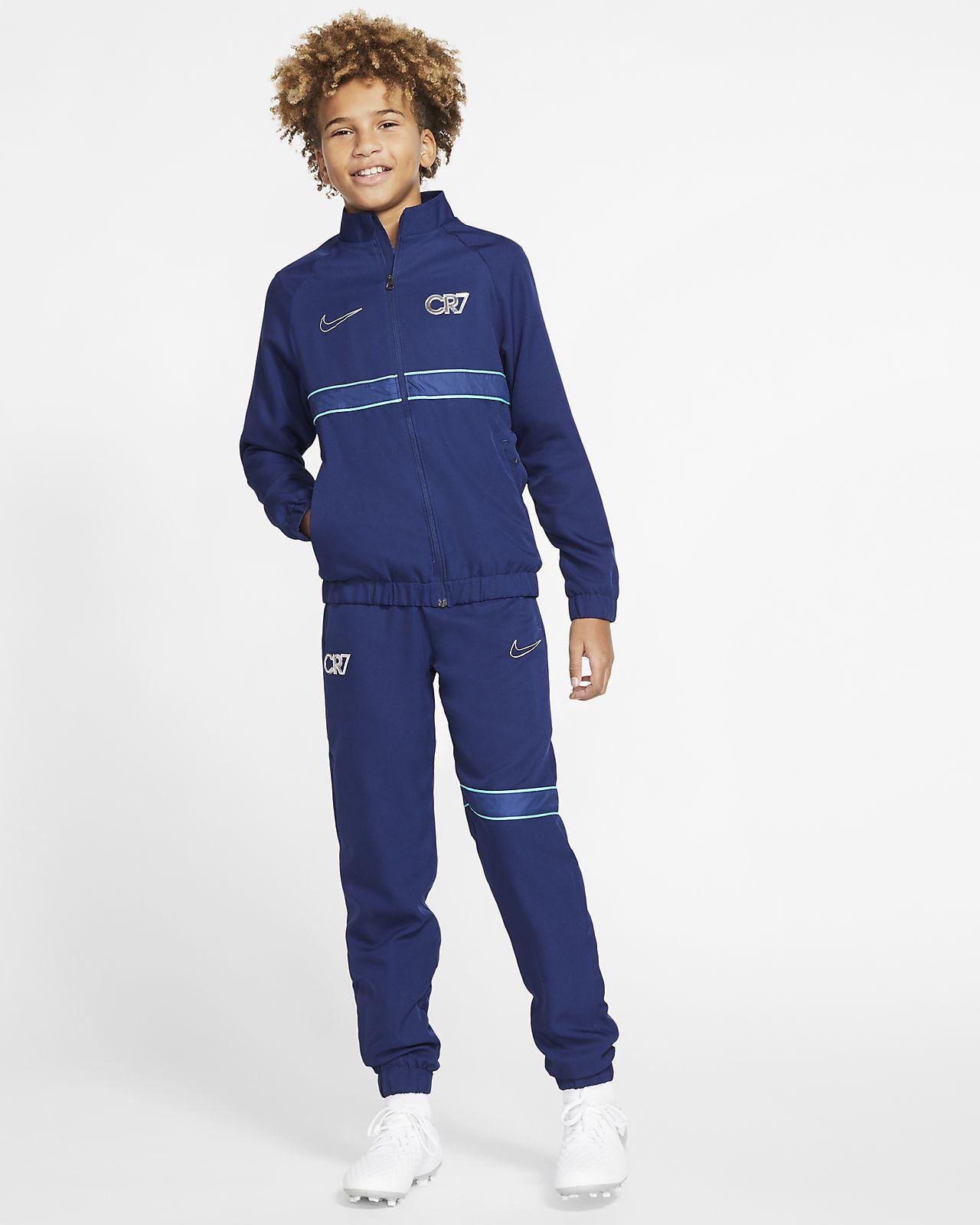 Nike Dri-FIT CR7-tracksuit til store børn