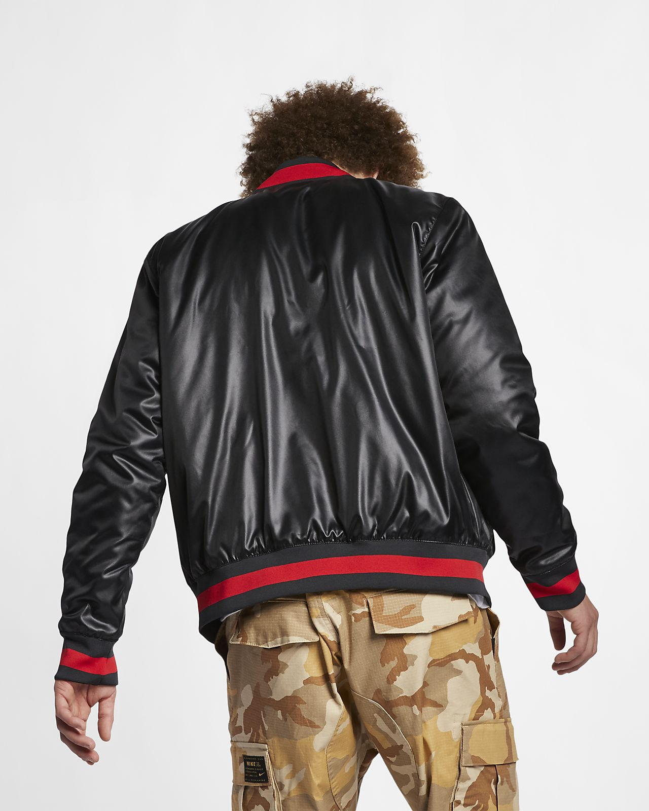 innovative design d266c abf66 ... Nike SB x NBA Men s Bomber Jacket