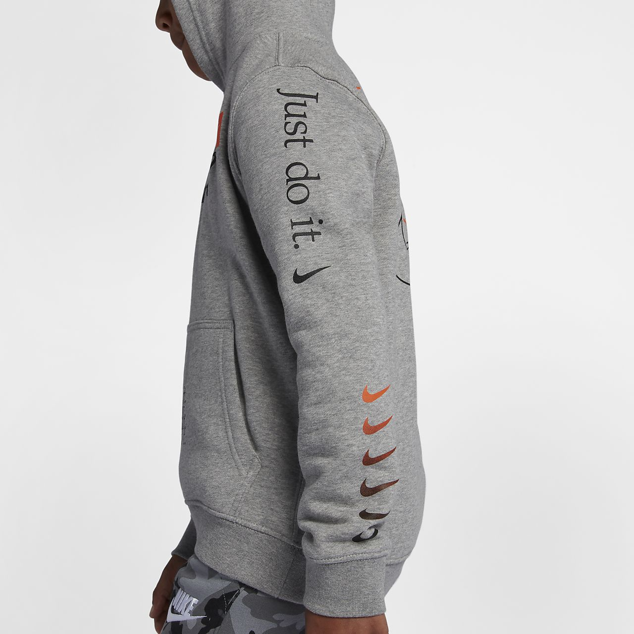 8db0d379259e Nike Sportswear Big Kids  (Boys ) Just Do It Pullover Hoodie. Nike.com