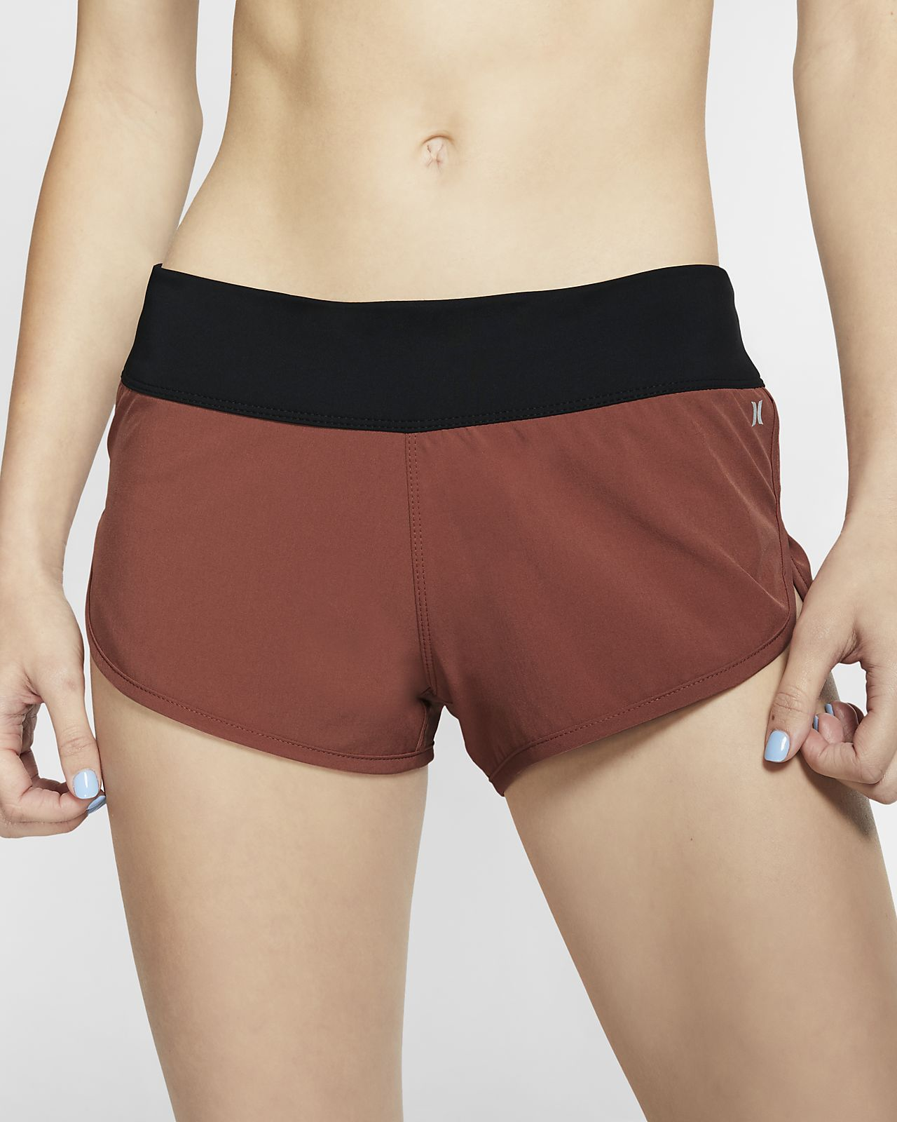 Shorts de playa para mujer Hurley Phantom Beachrider