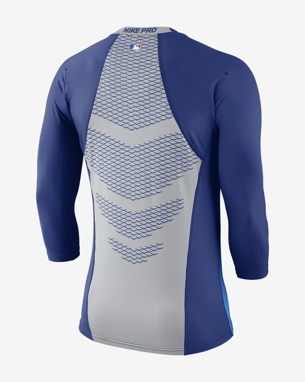 Nike Pro HyperCool (MLB Dodgers) Men's 3/4 Sleeve Top