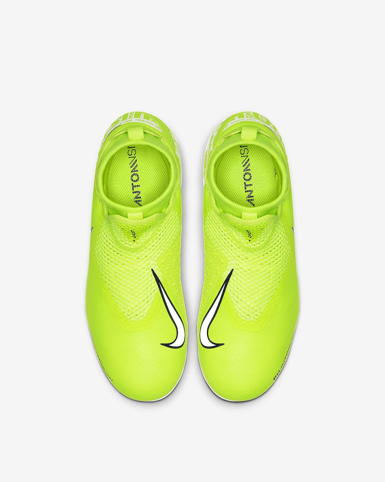 Nike Jr  Phantom Vision Academy Dynamic Fit MG Little/Big Kids'  Multi-Ground Soccer Cleat