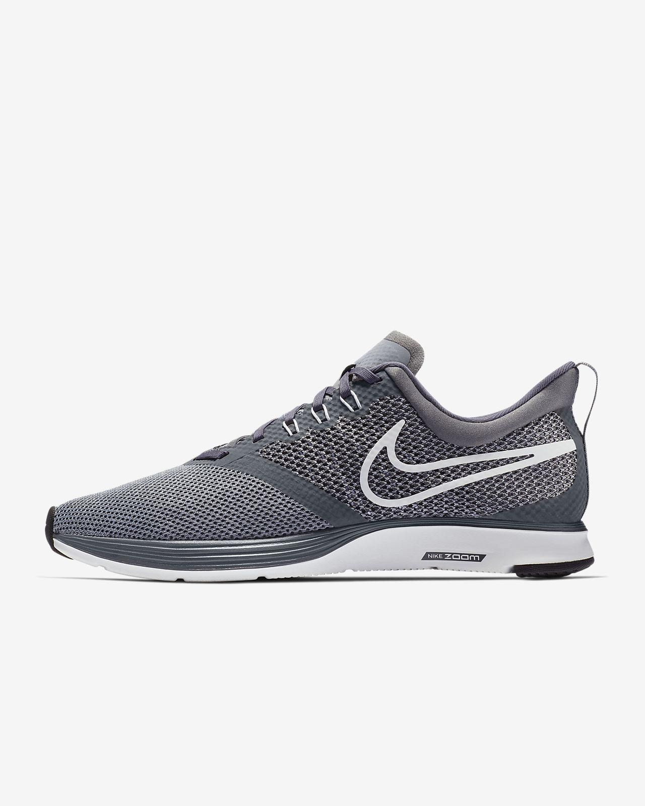 Nike Zoom Strike (AJ0189-001) Mens Running Shoes Black/White/Grey