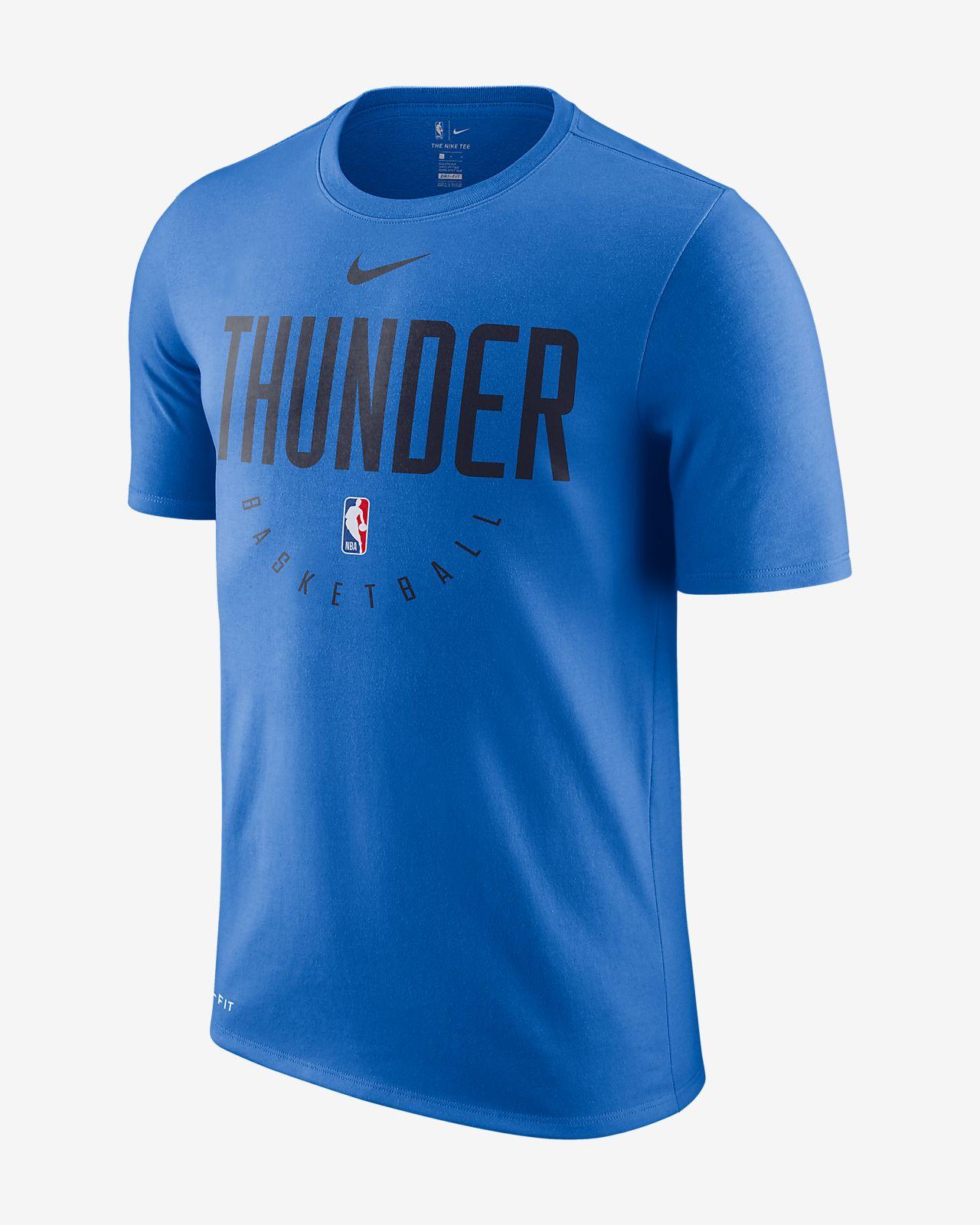 De Thunder Nba Fit Hombre Oklahoma Nike Camiseta City Dri La Y8454Pq